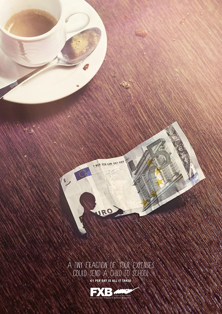 Association François-Xavier Bagnoud Print Ad -  Coffee