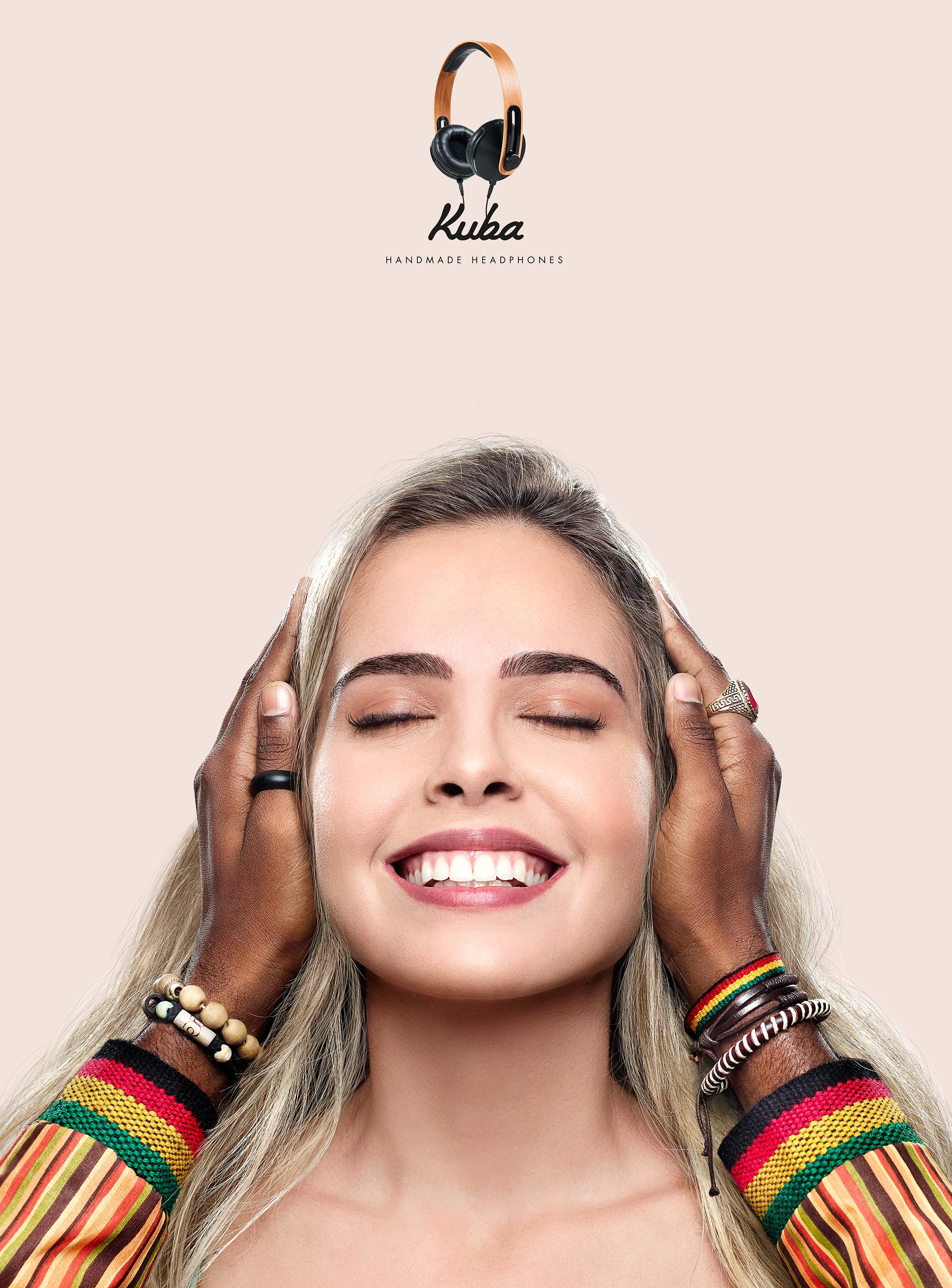 Kuba Audio Print Ad - Reggae Hands