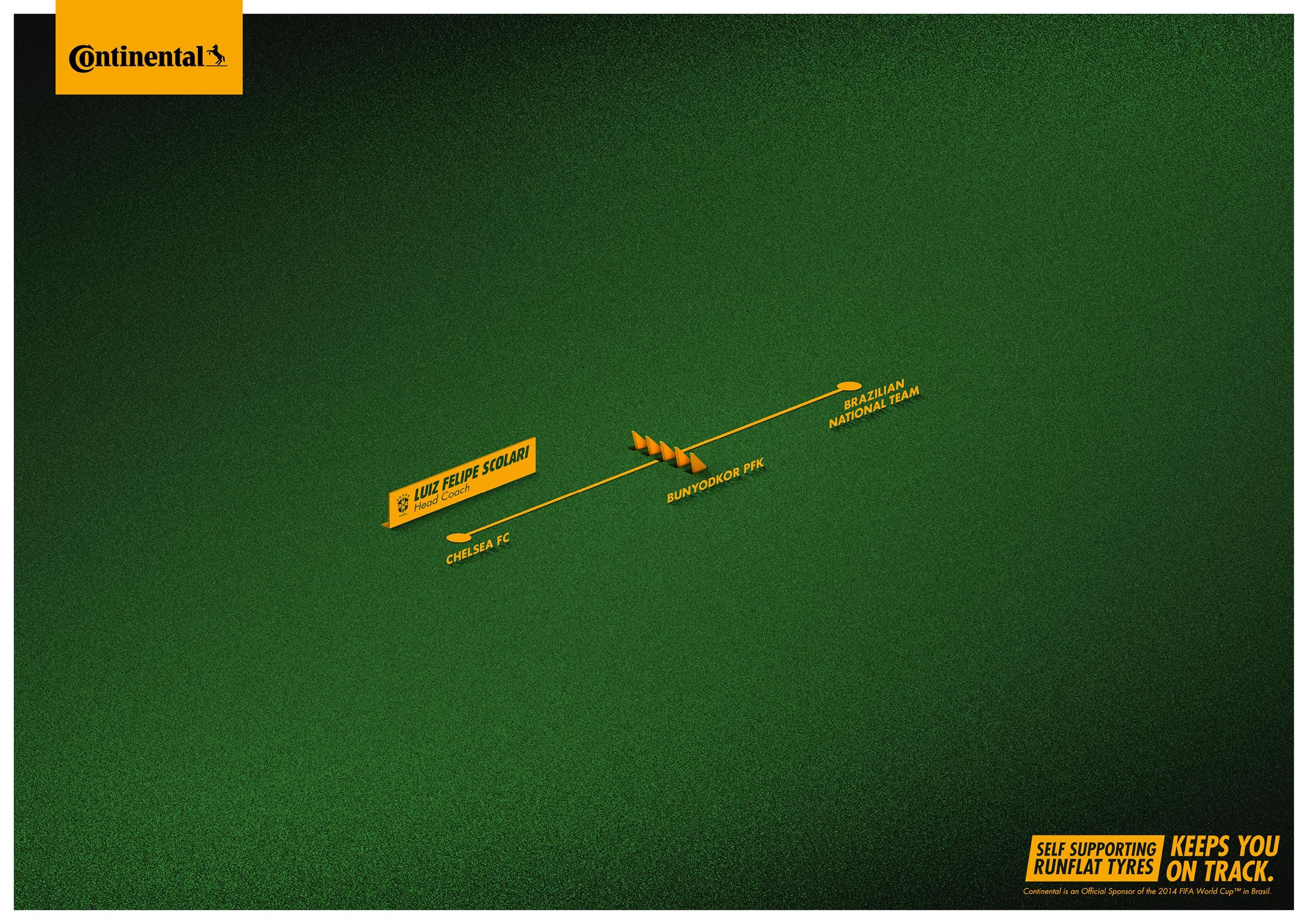 Continental Print Ad -  On track, 2