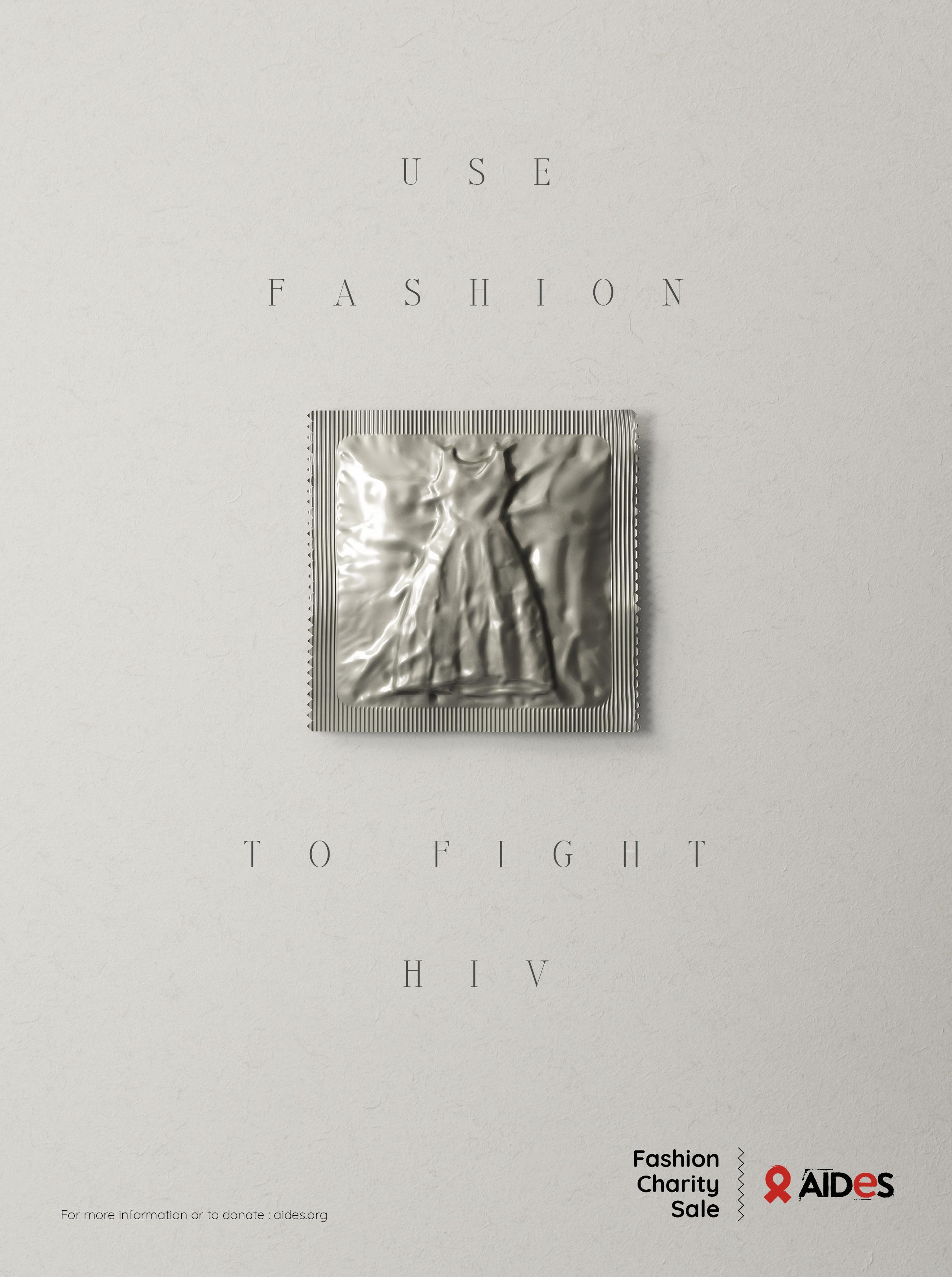 Aides Print Ad - Fashion Condoms, 2