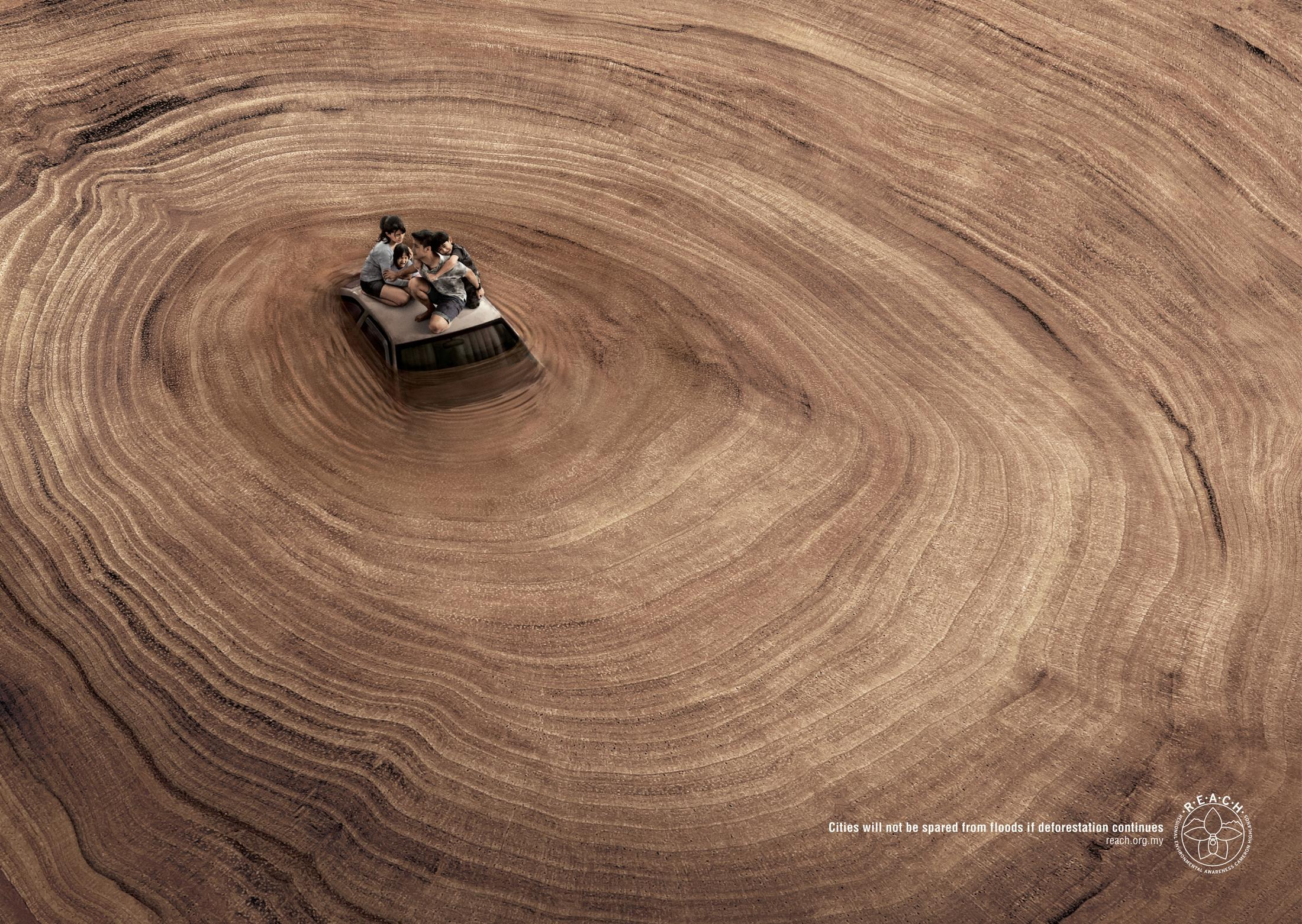 Regional Environmental Awareness Cameron Highlands Print Ad - Family