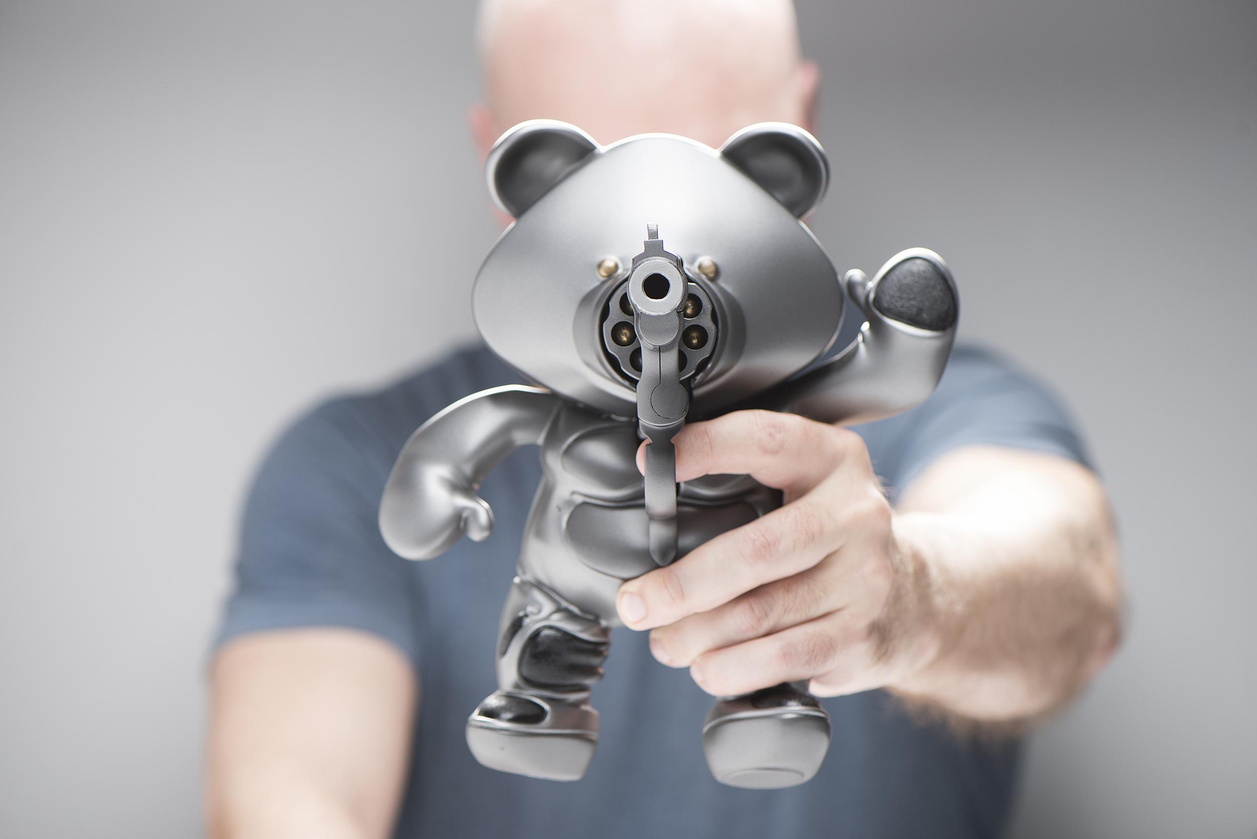 Illinois Council Against Handgun Violence Film Ad - Introducing Teddy Gun