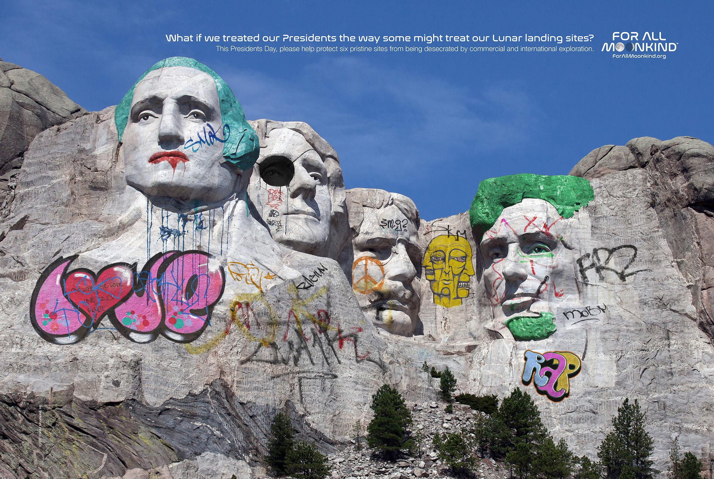 For All Moonkind Print Ad - President's Day