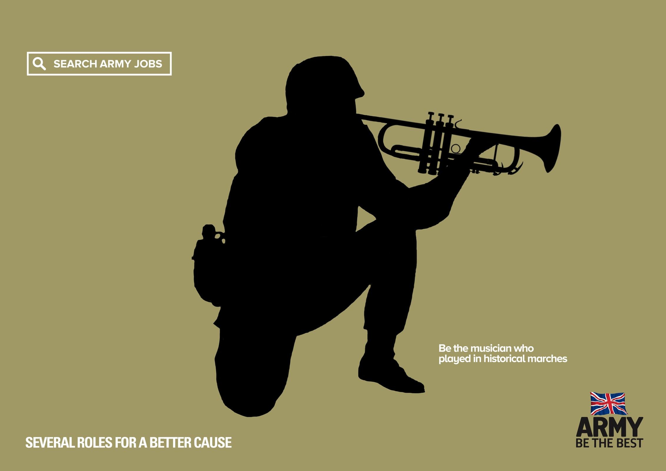British Army: For A Better Cause, Musician