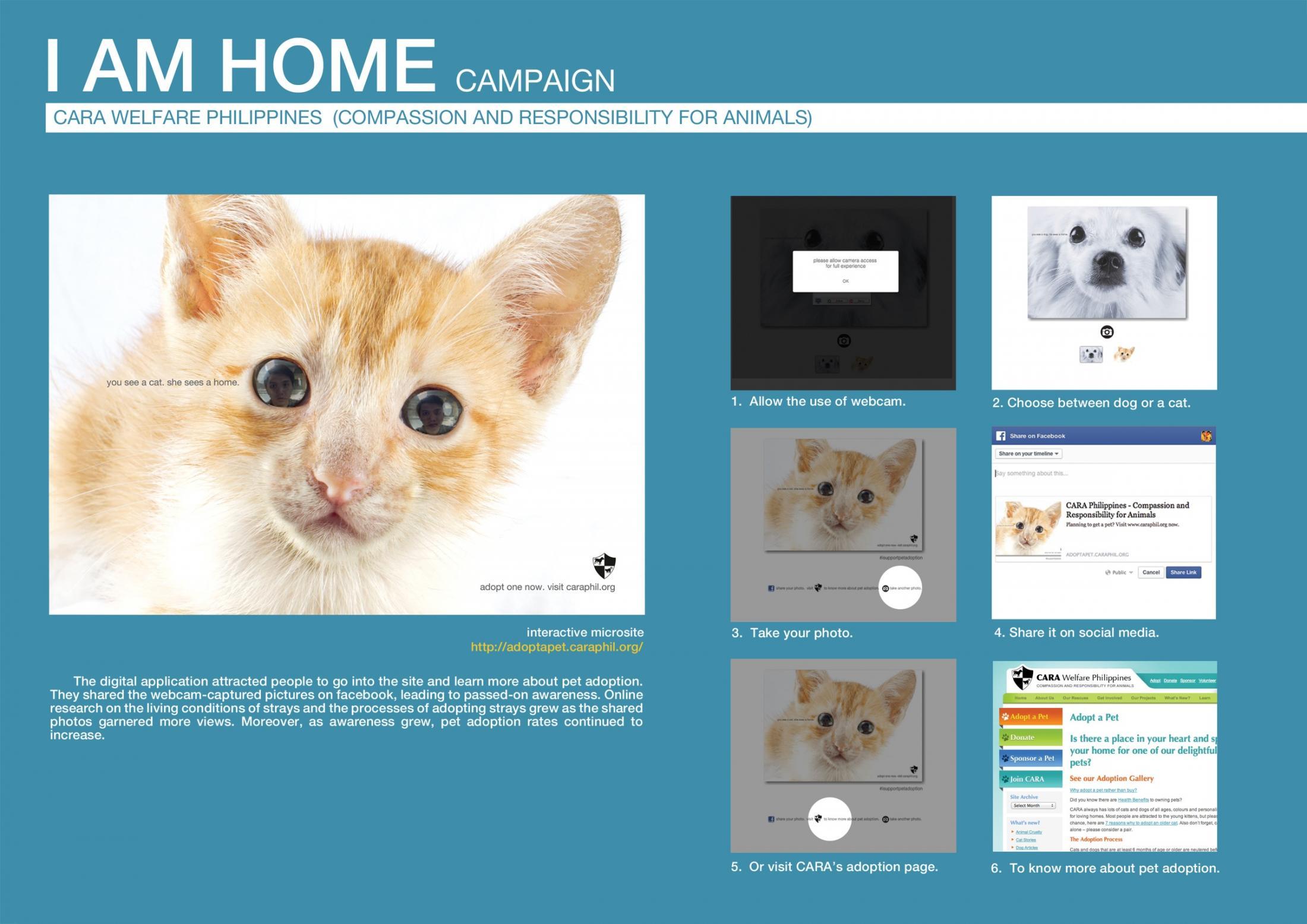 CARA Digital Ad -  I am home - online