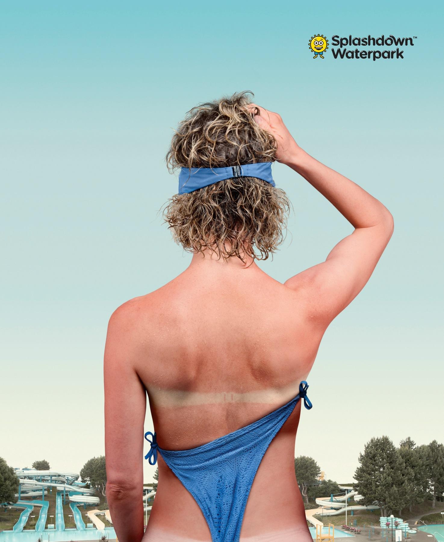 Splashdown Waterpark Print Ad -  Experience Splashdown, 2
