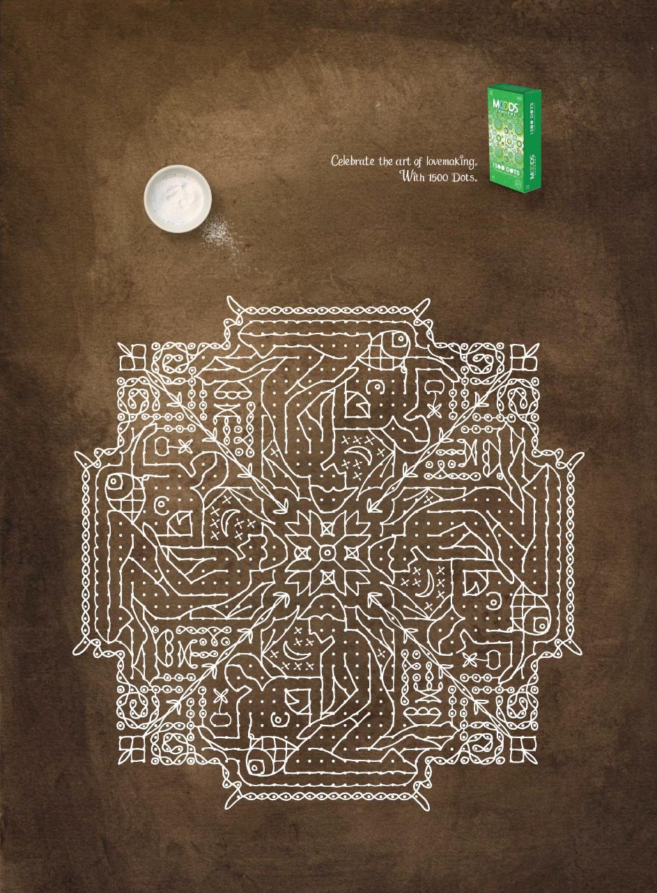 Moods Condoms Print Ad -  Kolam, 2