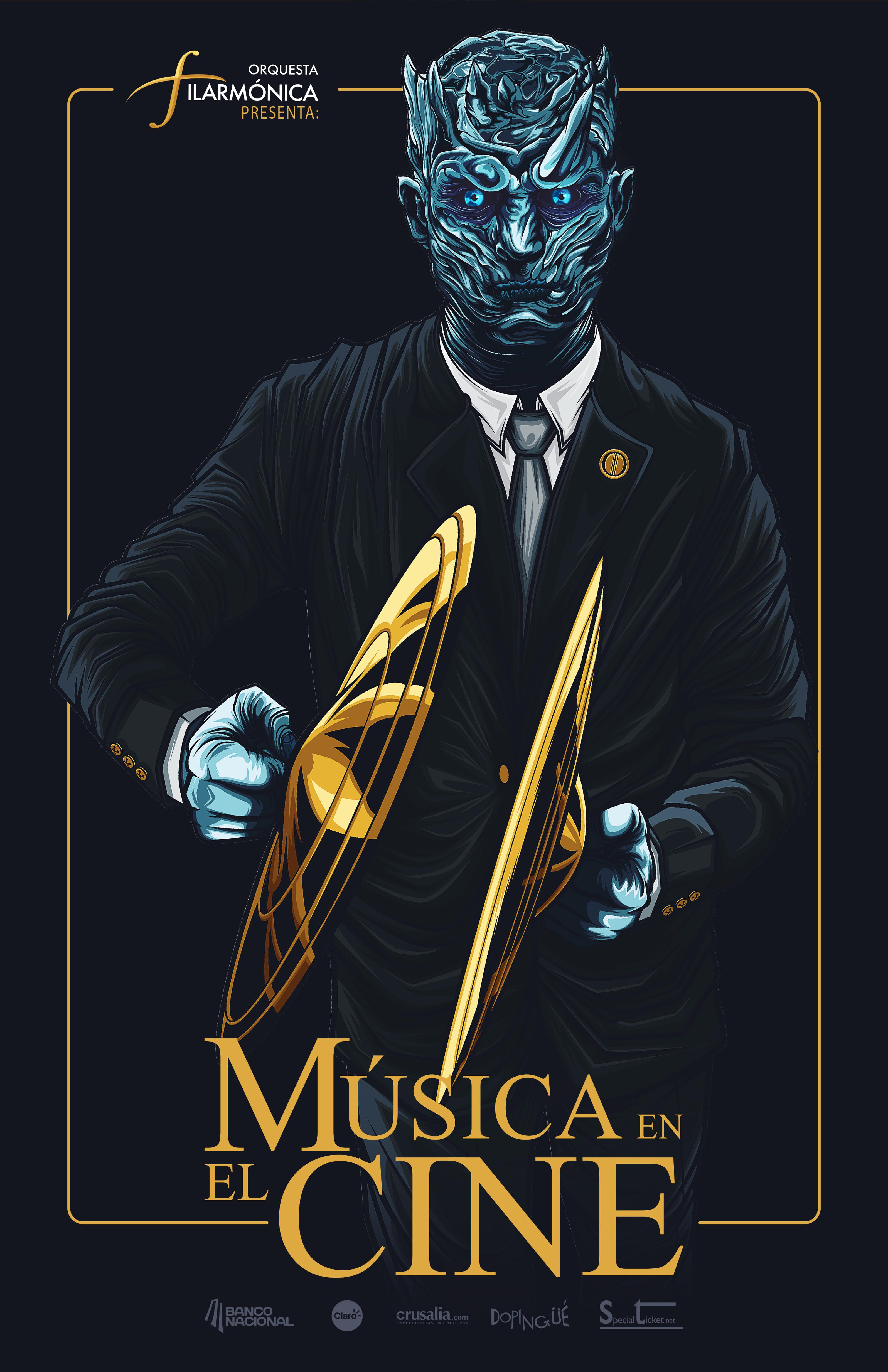 Costa Rica Philharmonic Orchestra Print Ad - Music in Film, 2