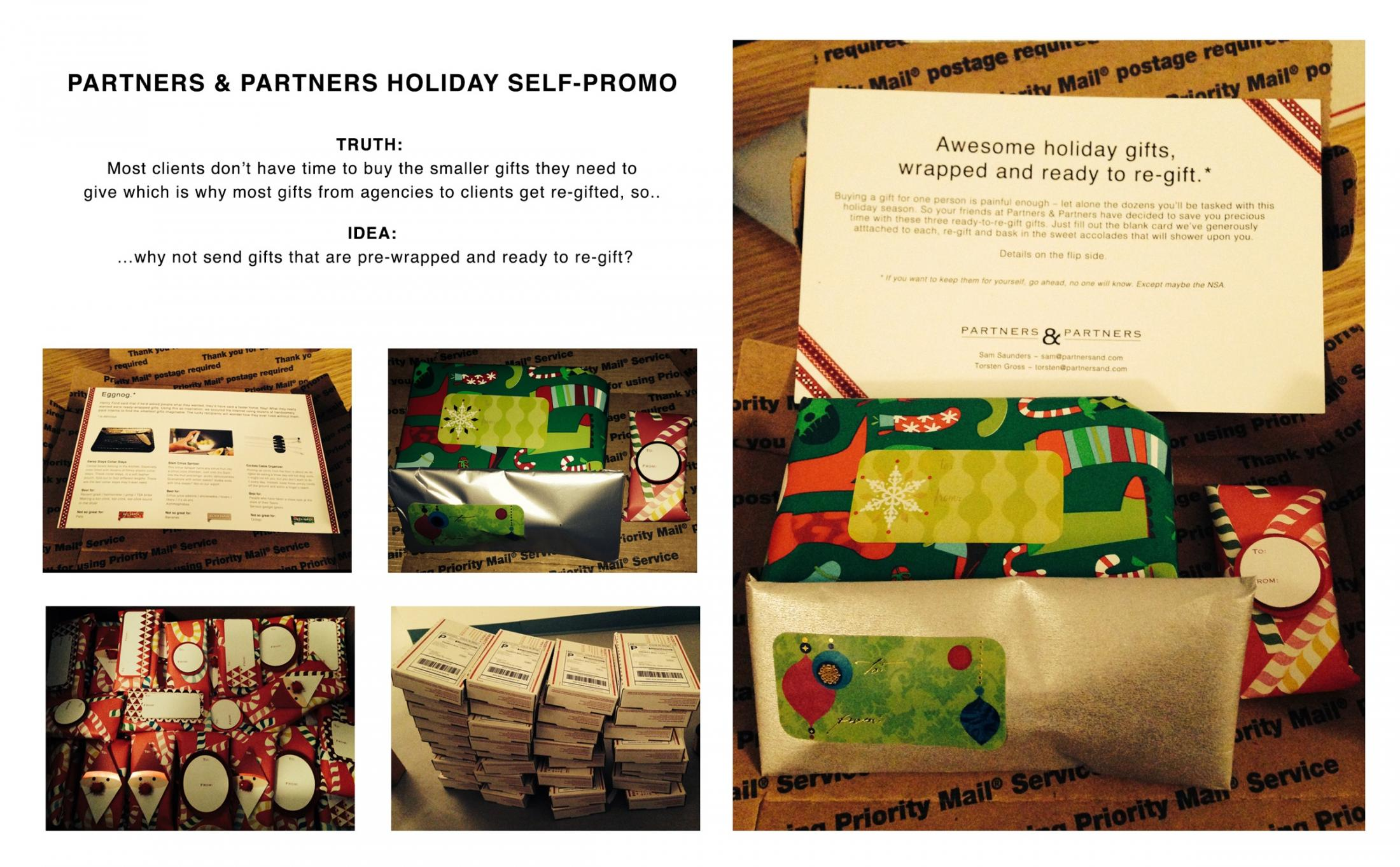 Partners & Partners Direct Ad -  Ready to re-gift