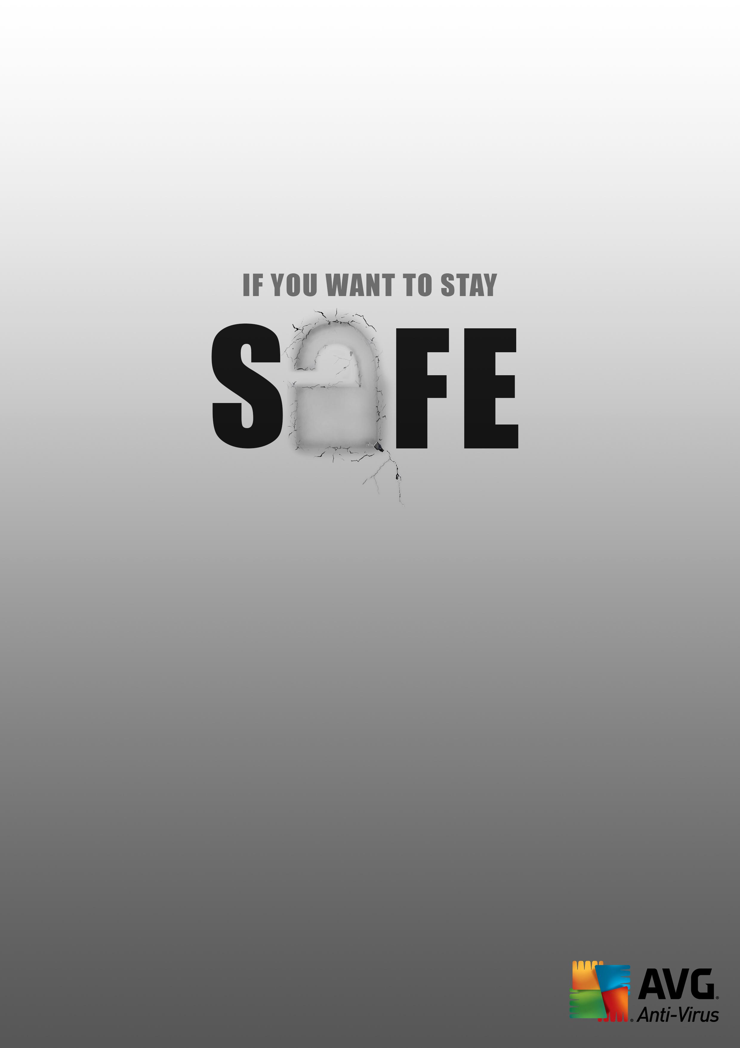AVG Print Ad - Safe