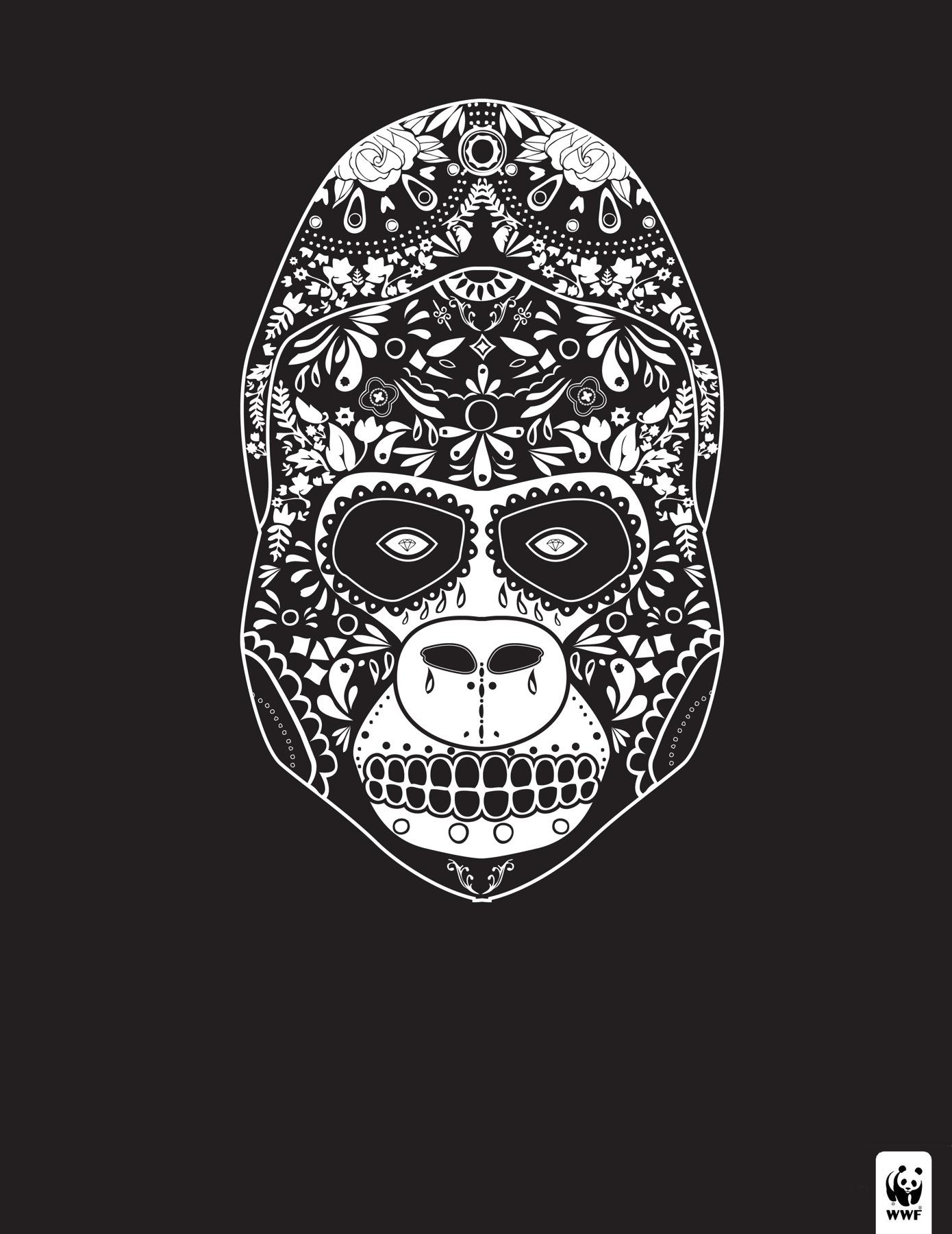 WWF Print Ad -  Day of the Dead, 3