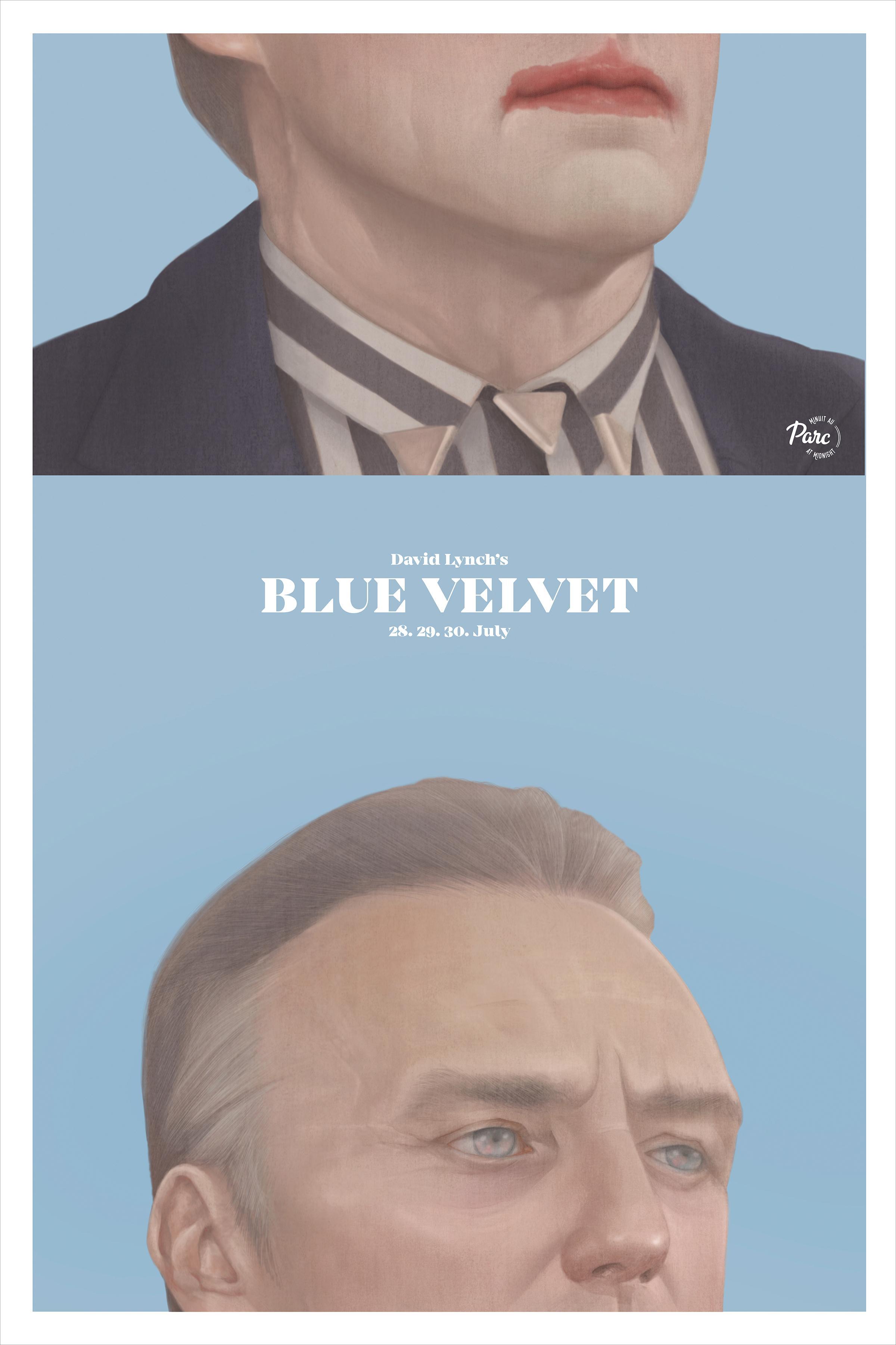Cinema du Parc Outdoor Ad - Blue Velvet