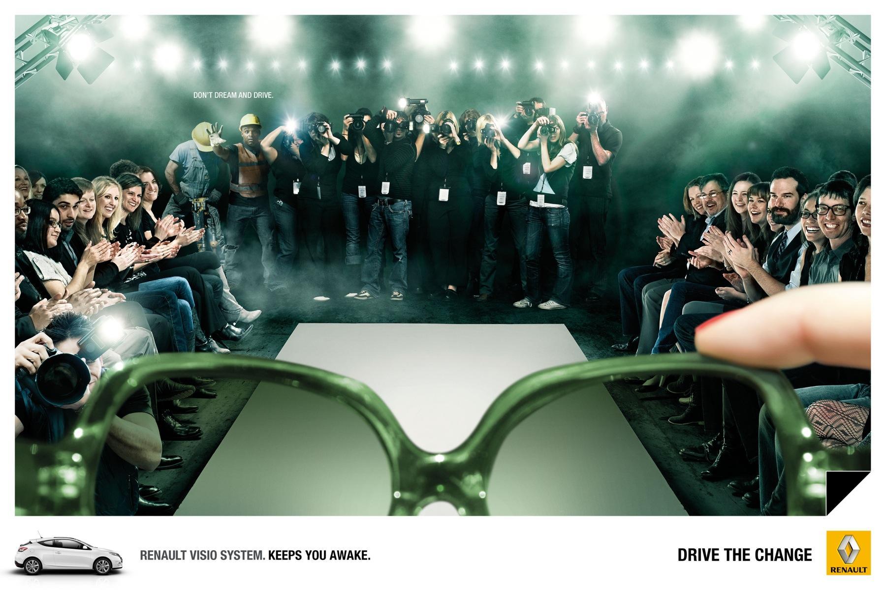 Renault Print Ad -  Catwalk