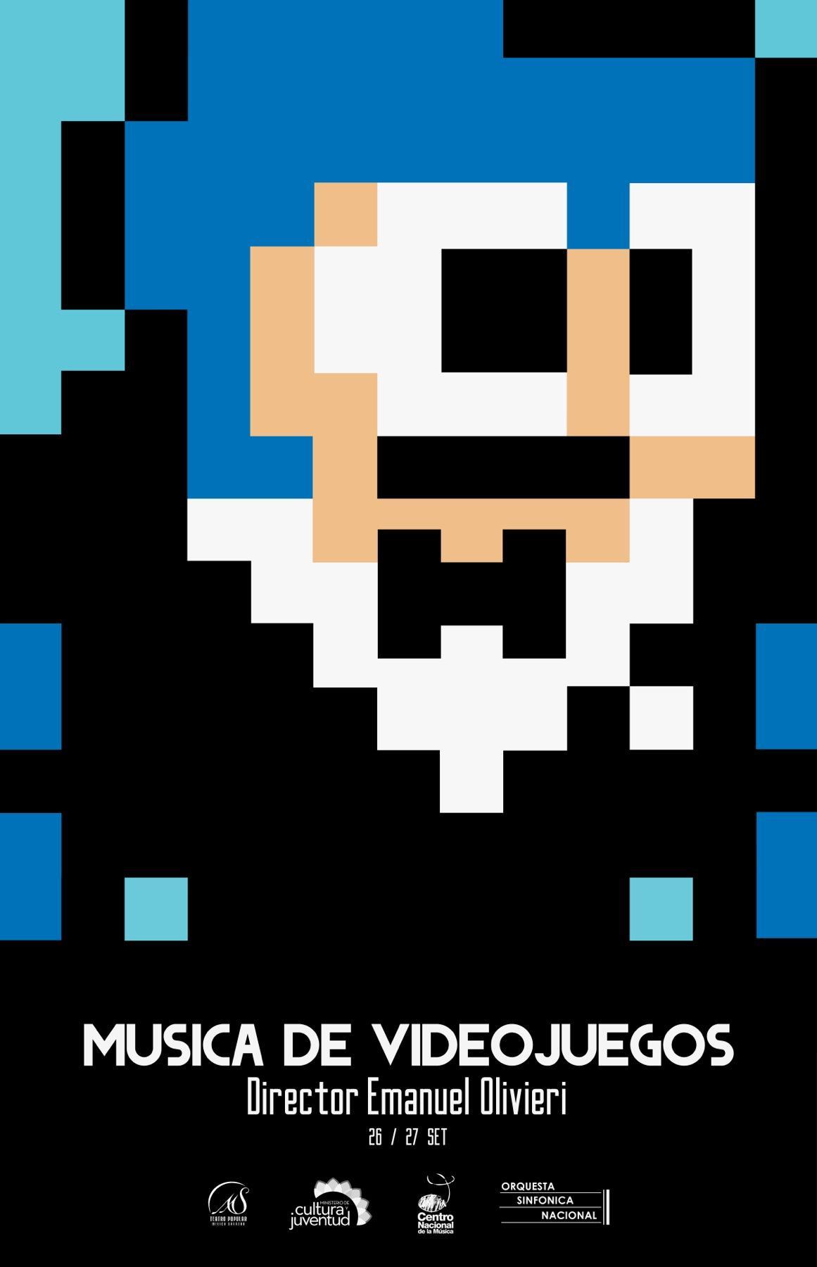 Orquesta Sinfónica Nacional Print Ad -  Megaman