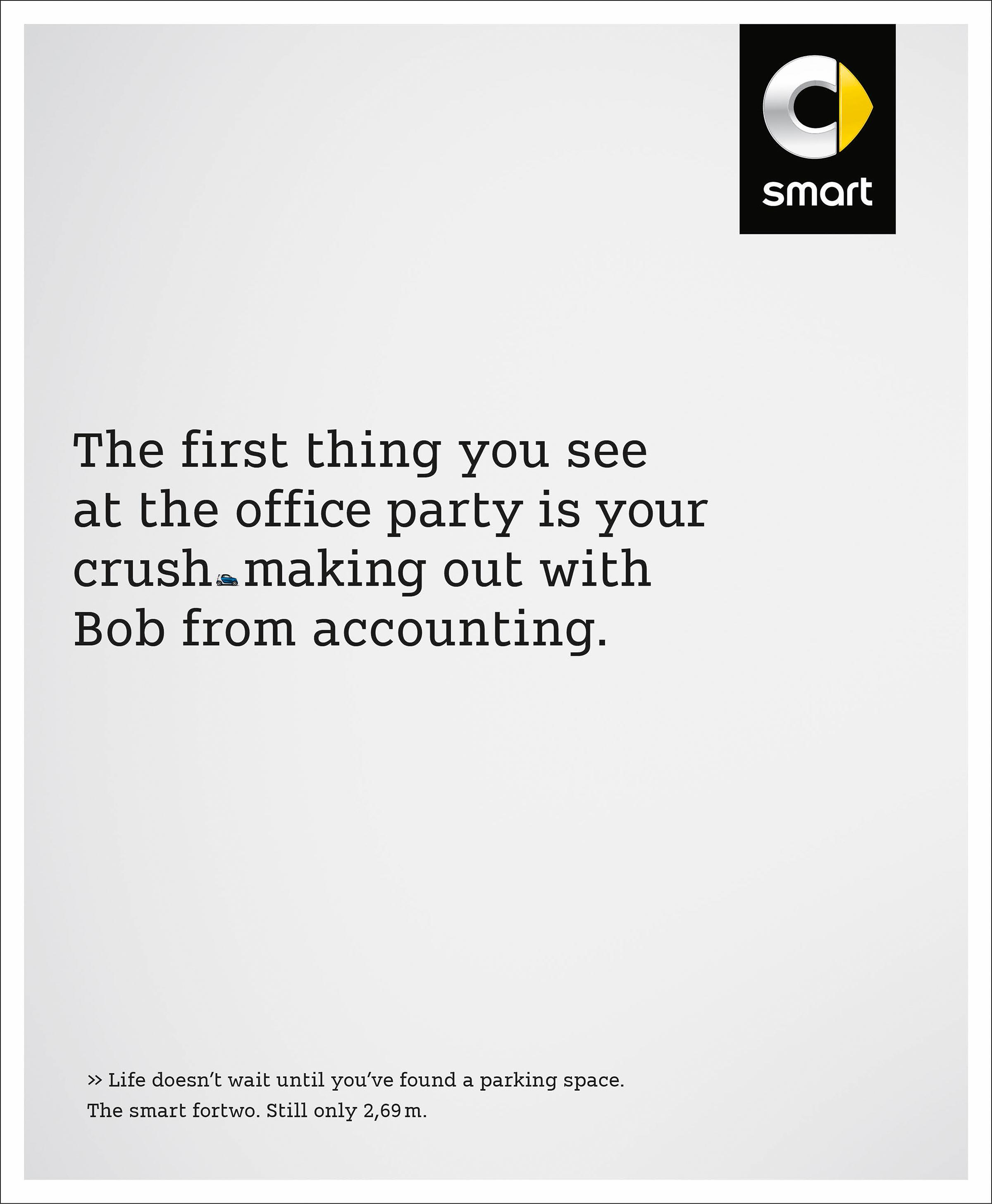 Smart Print Ad - Office Party, 2