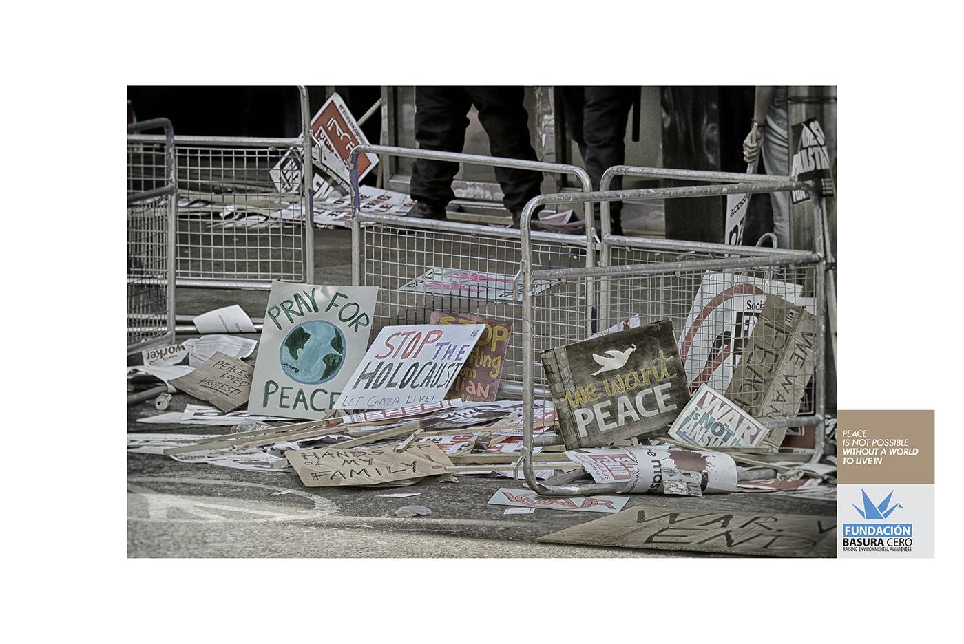 Fundacion Basura Print Ad - World without trash, 3