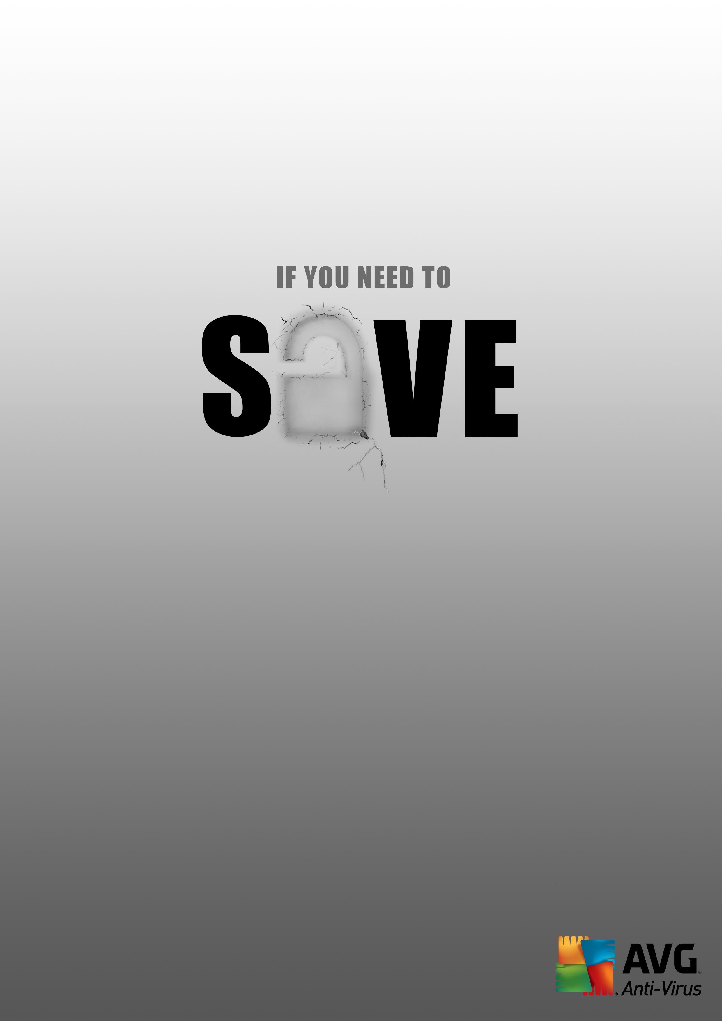 AVG Print Ad - Save