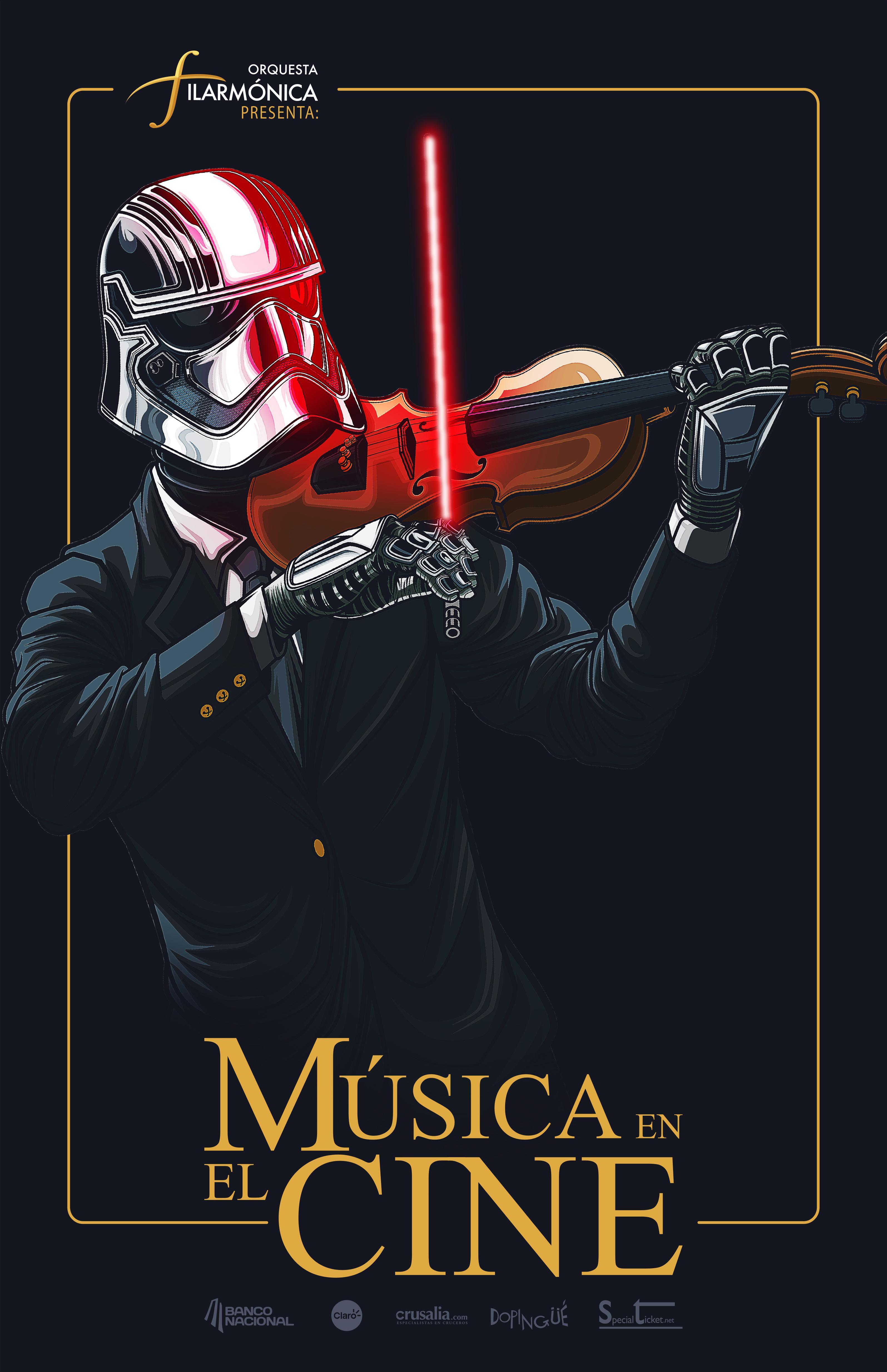 Costa Rica Philharmonic Orchestra Print Ad - Music in Film, 3