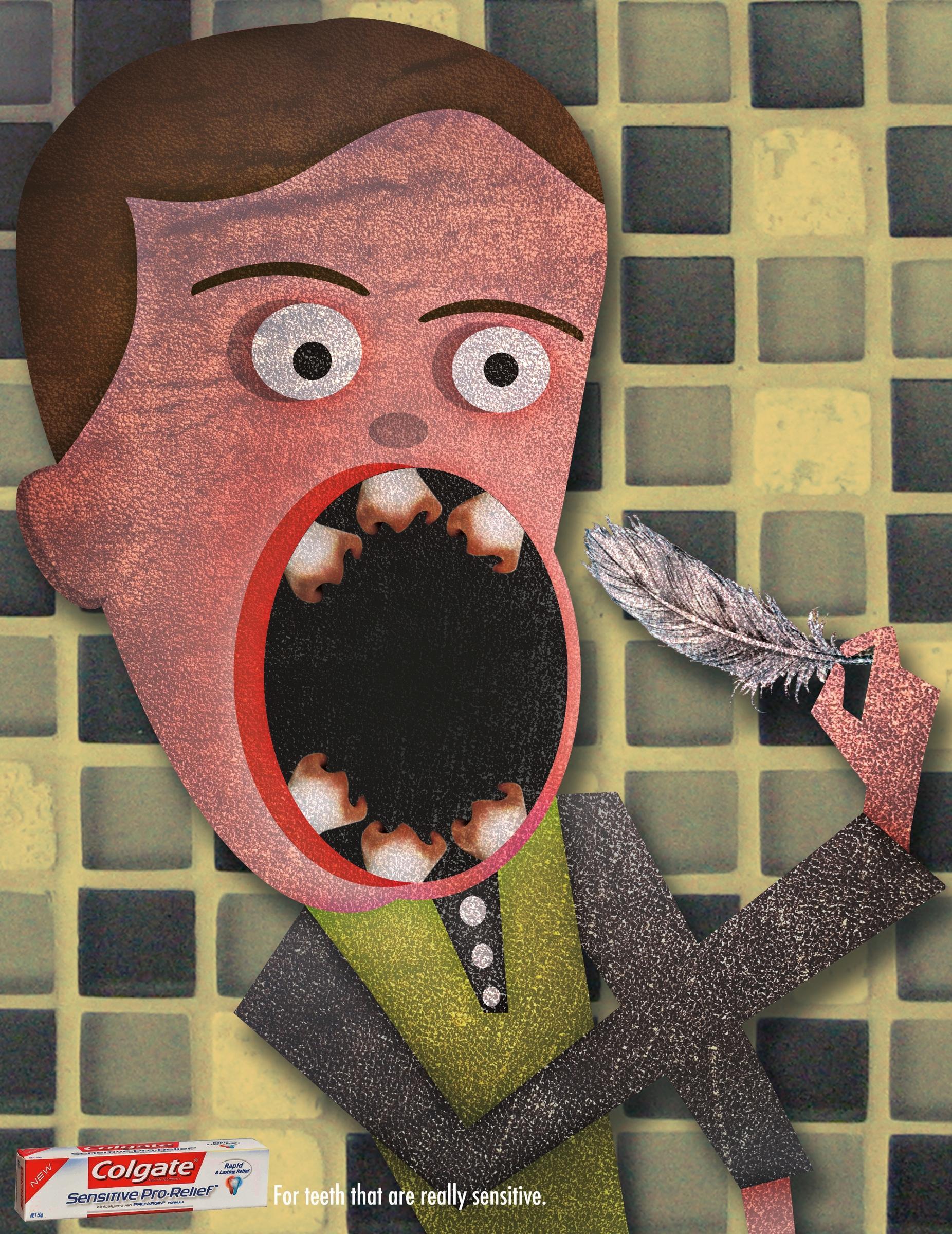 Colgate Print Ad -  Sensitive Teeth, 3