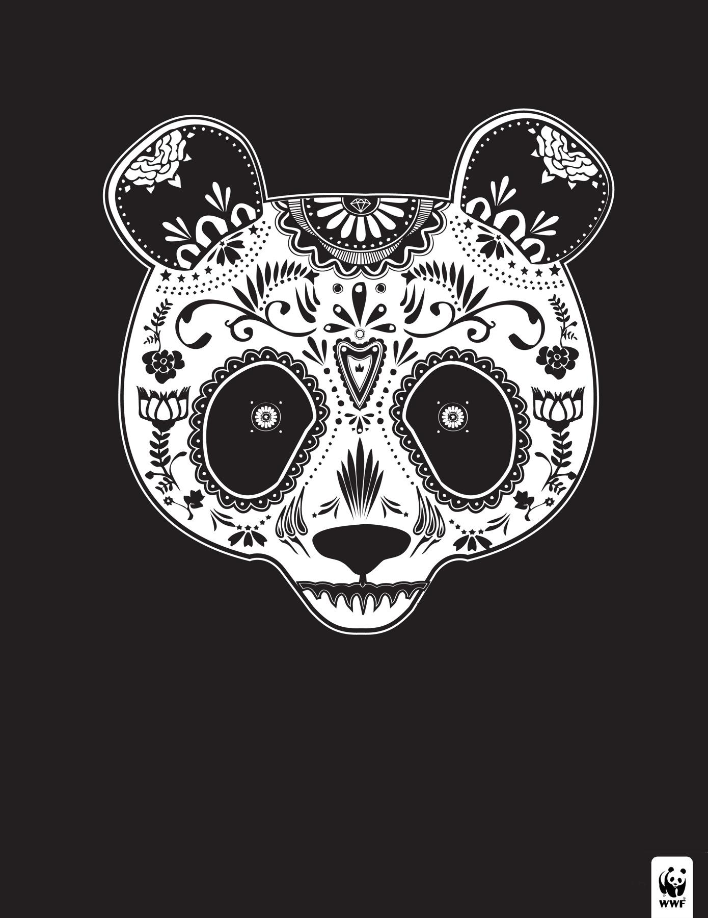 WWF Print Ad -  Day of the Dead, 2
