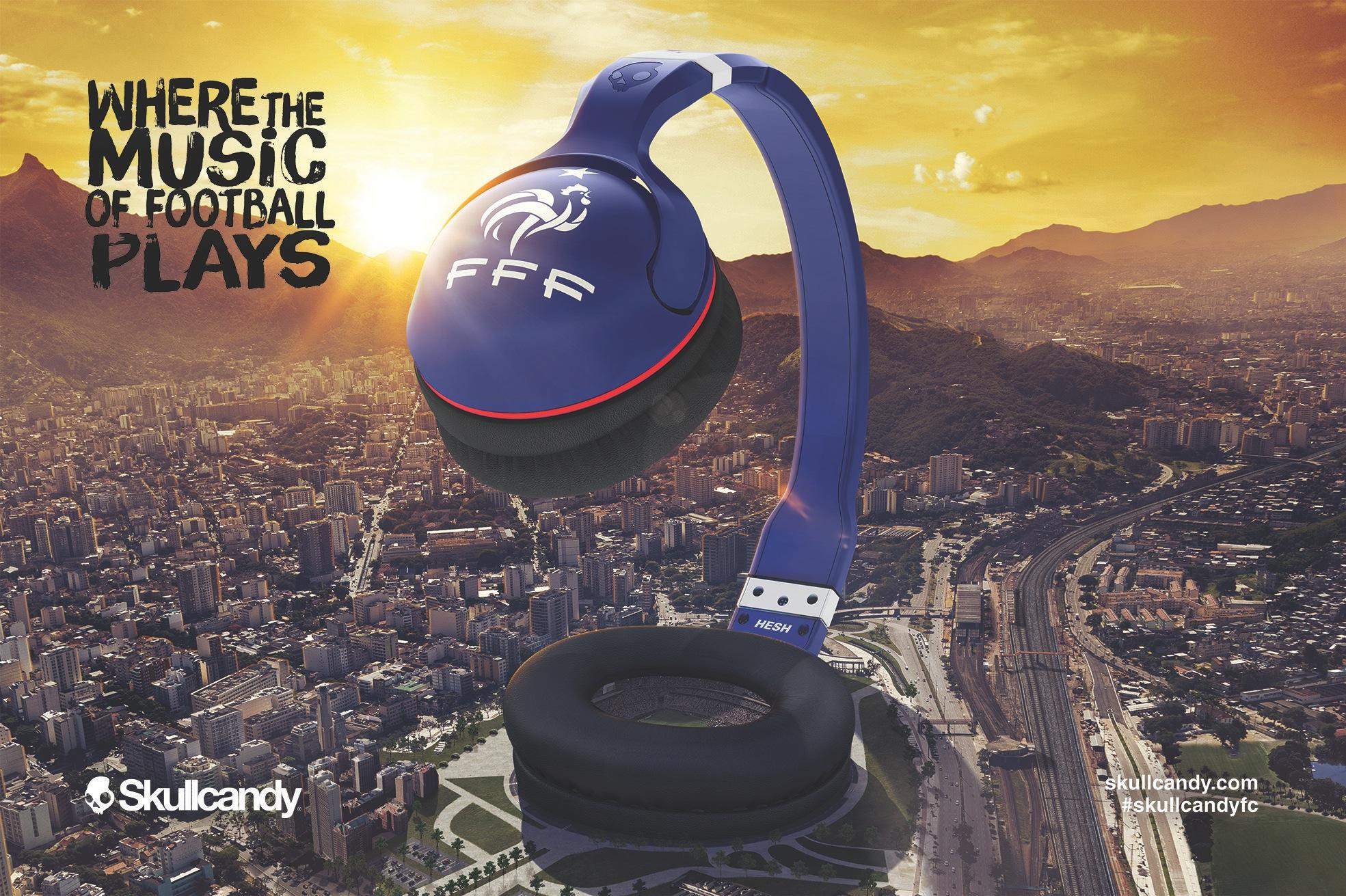 Skullcandy Print Ad -  Where the music of football plays, 3