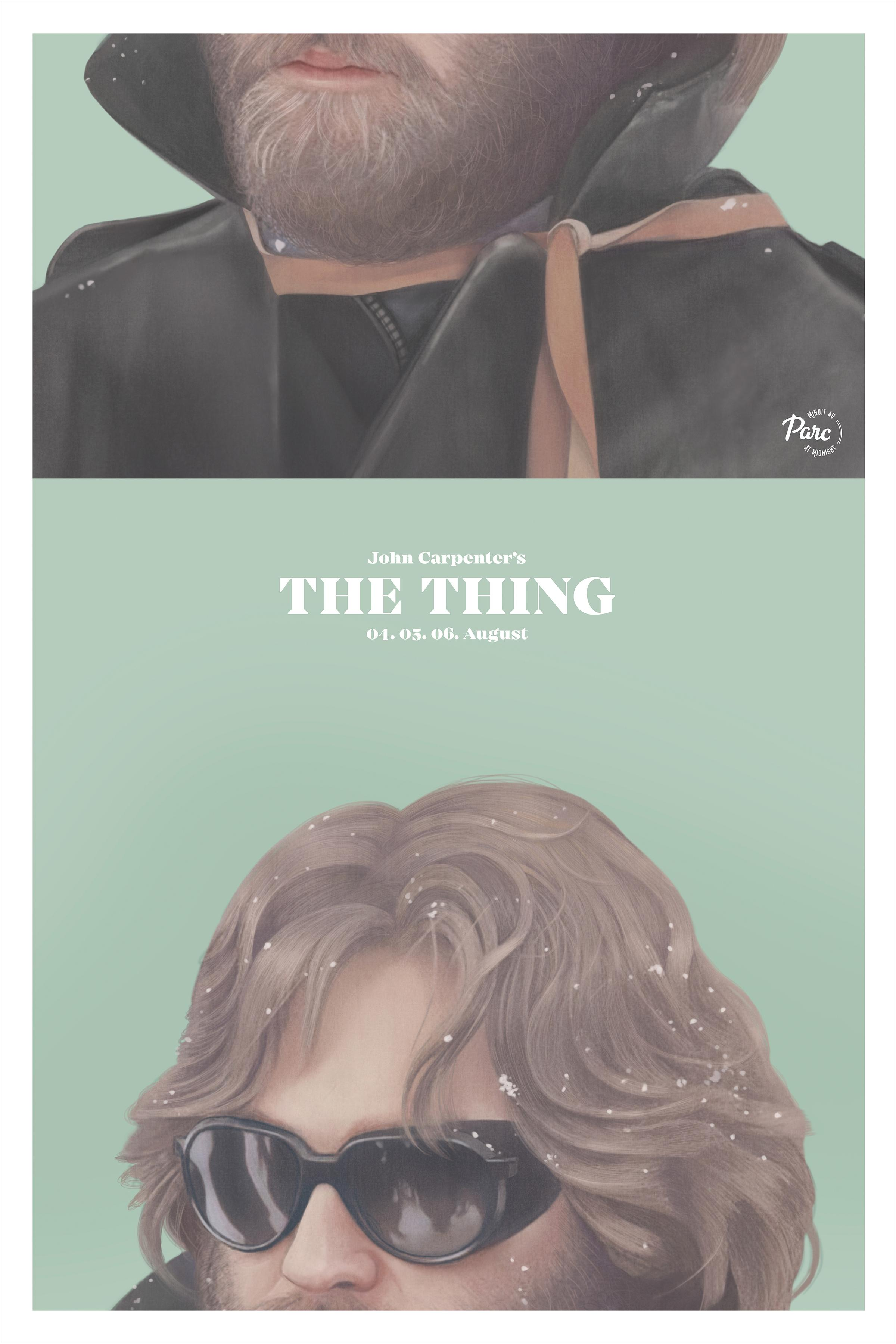 Cinema du Parc Outdoor Ad - The Thing