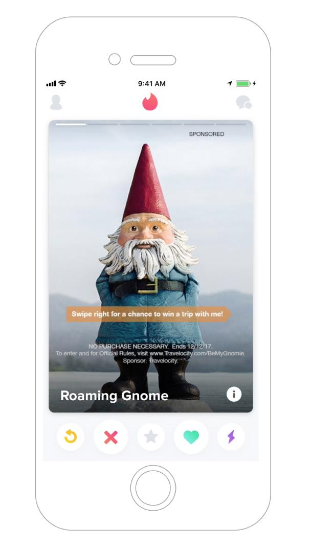 Travelocity Integrated Ad - Be My Gnomie?