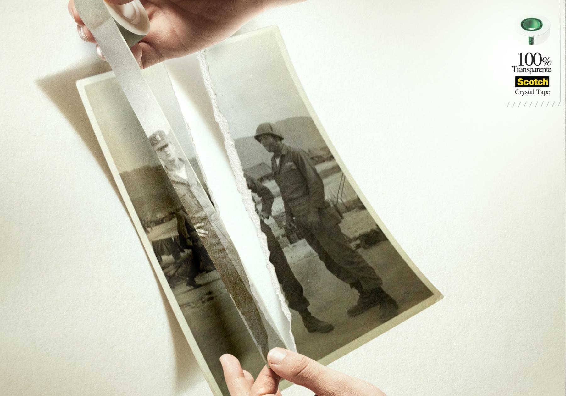 Scotch Print Ad -  Soldier