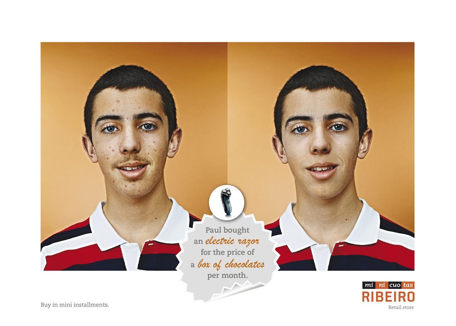Minicuotas Ribeiro Print Ad -  Paul
