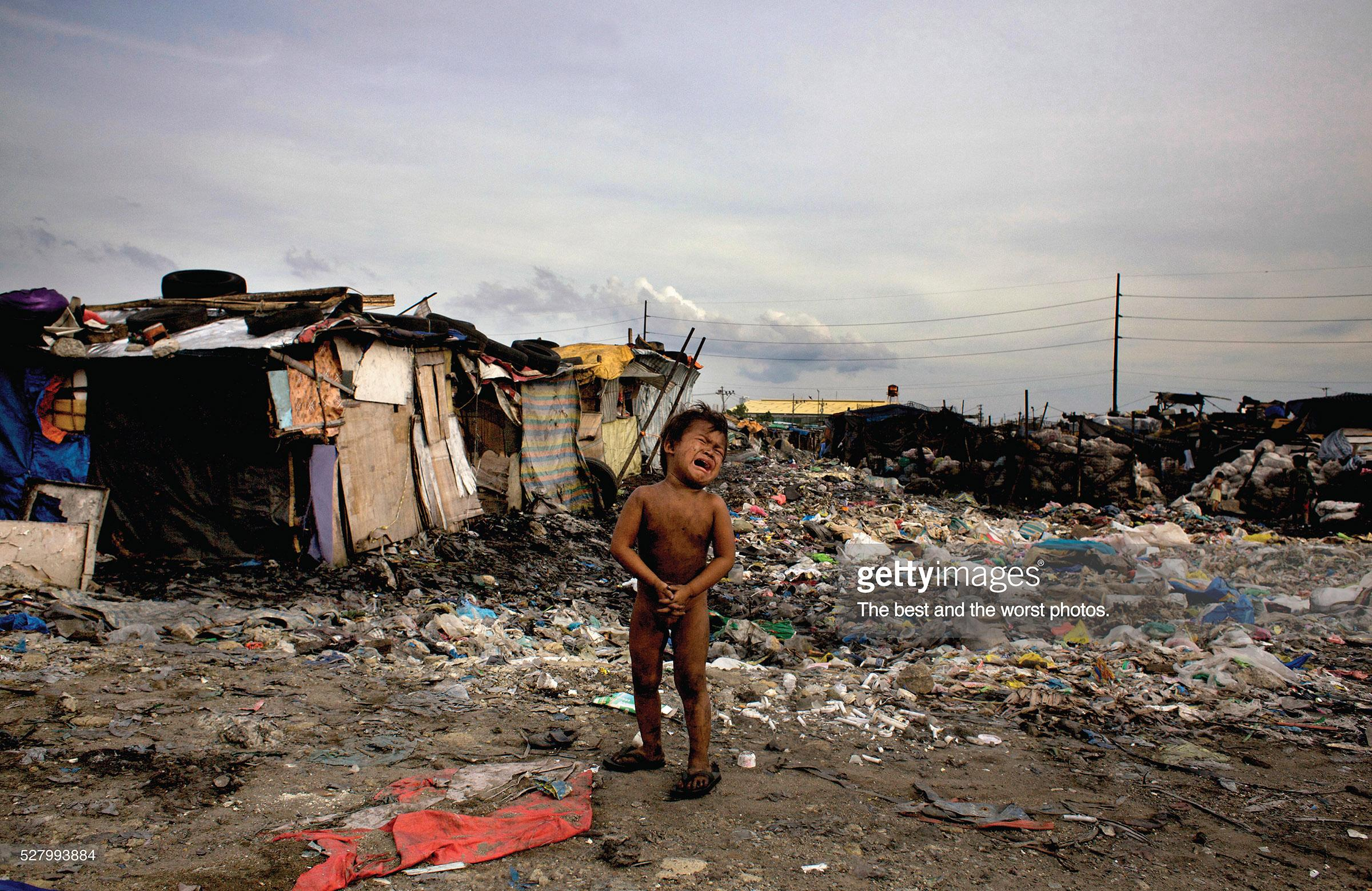 Getty Images Print Advert By DDB Poverty Ads Of The World - Worst poverty in the world