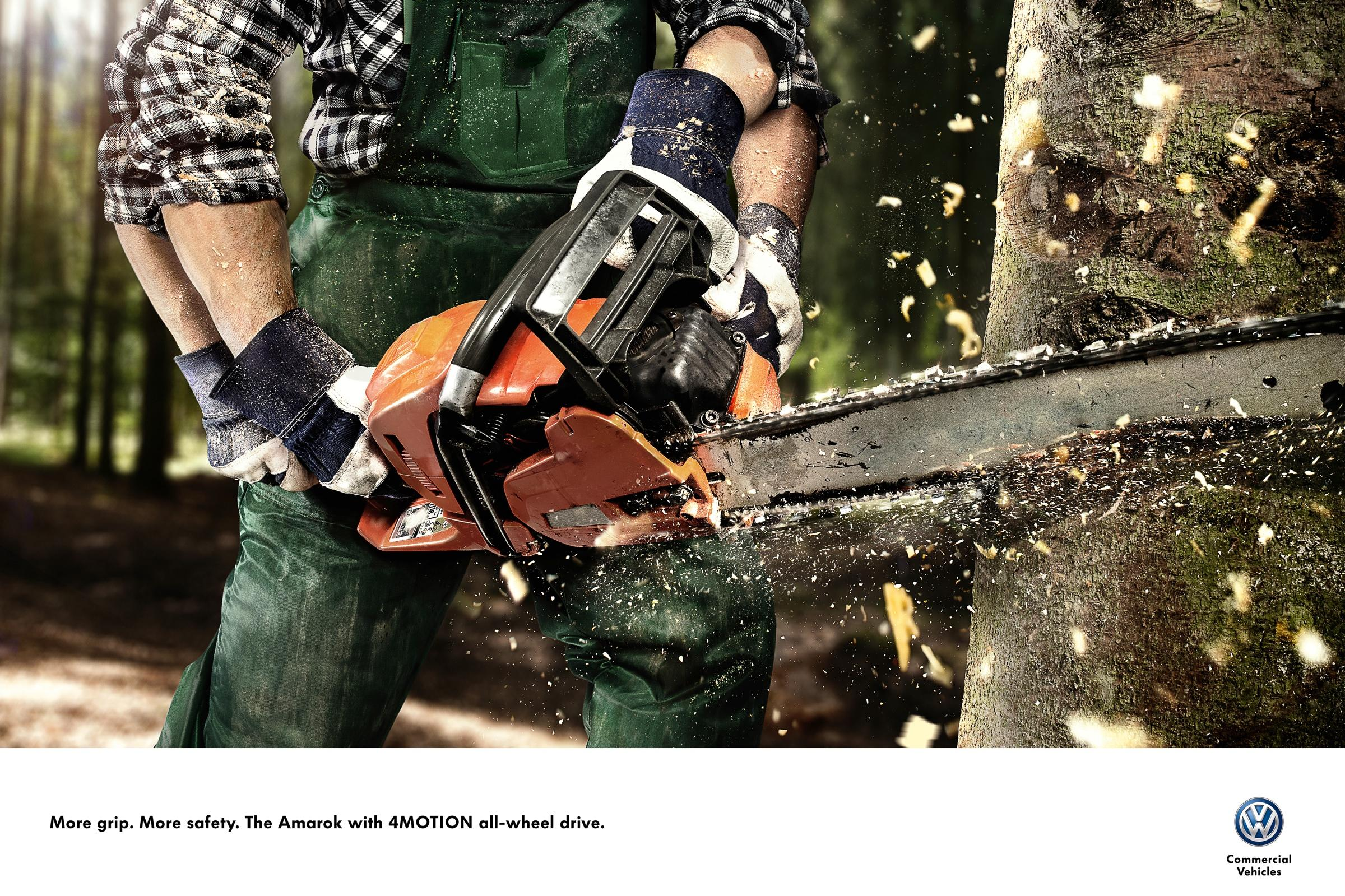 Volkswagen Print Ad -  More Grip. More Safety., 2