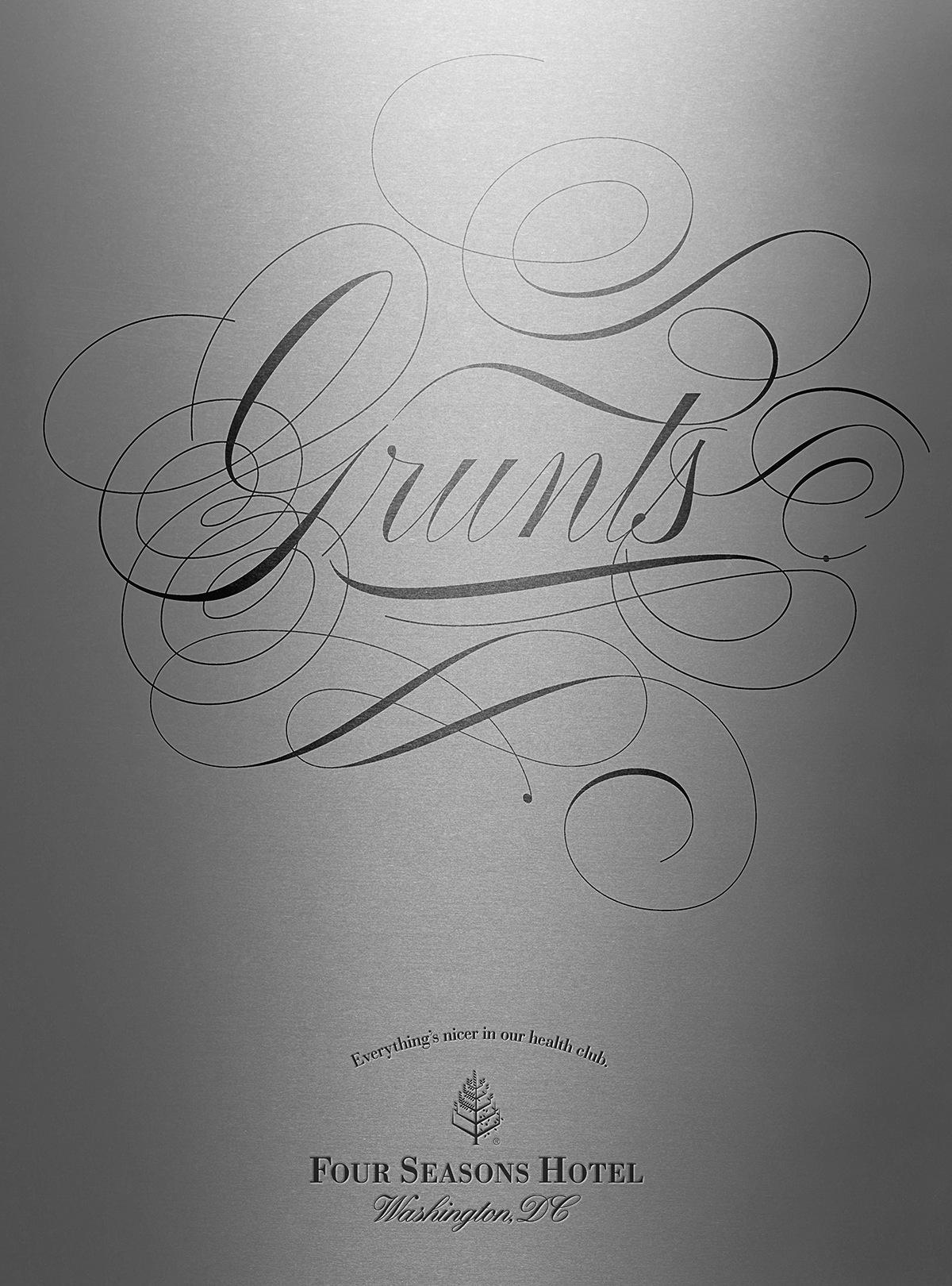 Four Seasons Hotel Print Ad -  Grunts