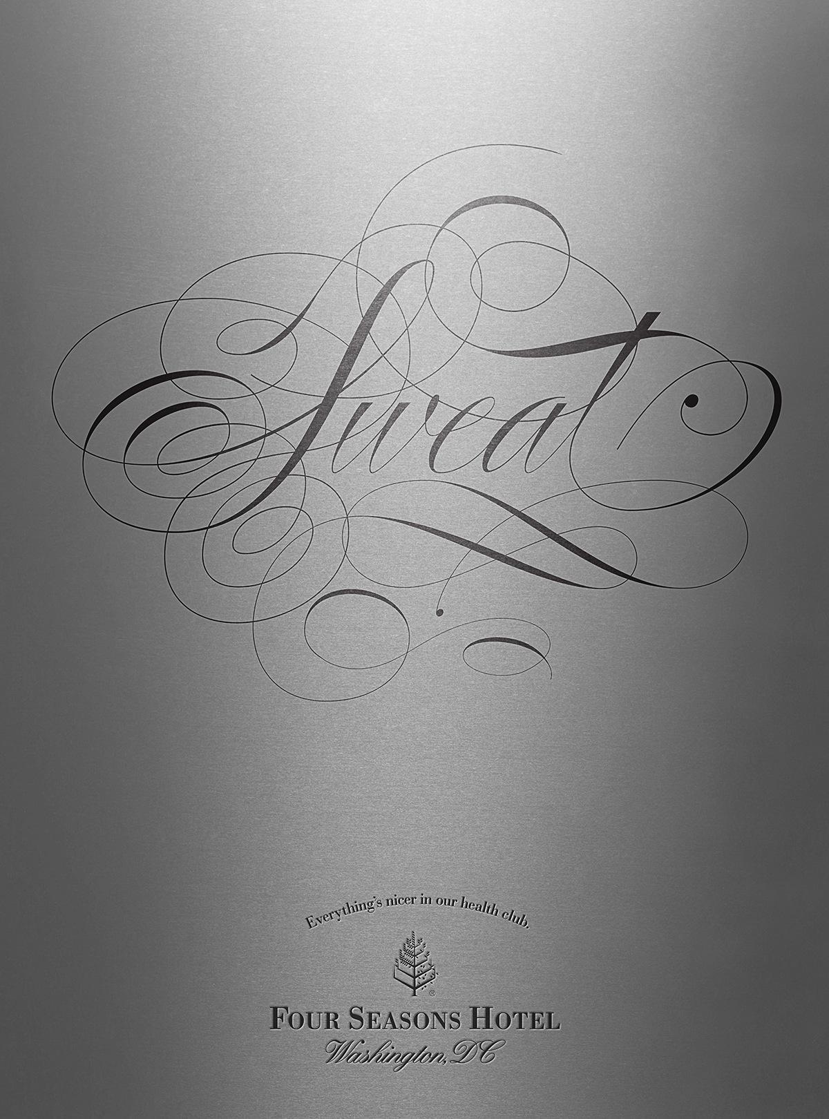Four Seasons Hotel Print Ad -  Sweat