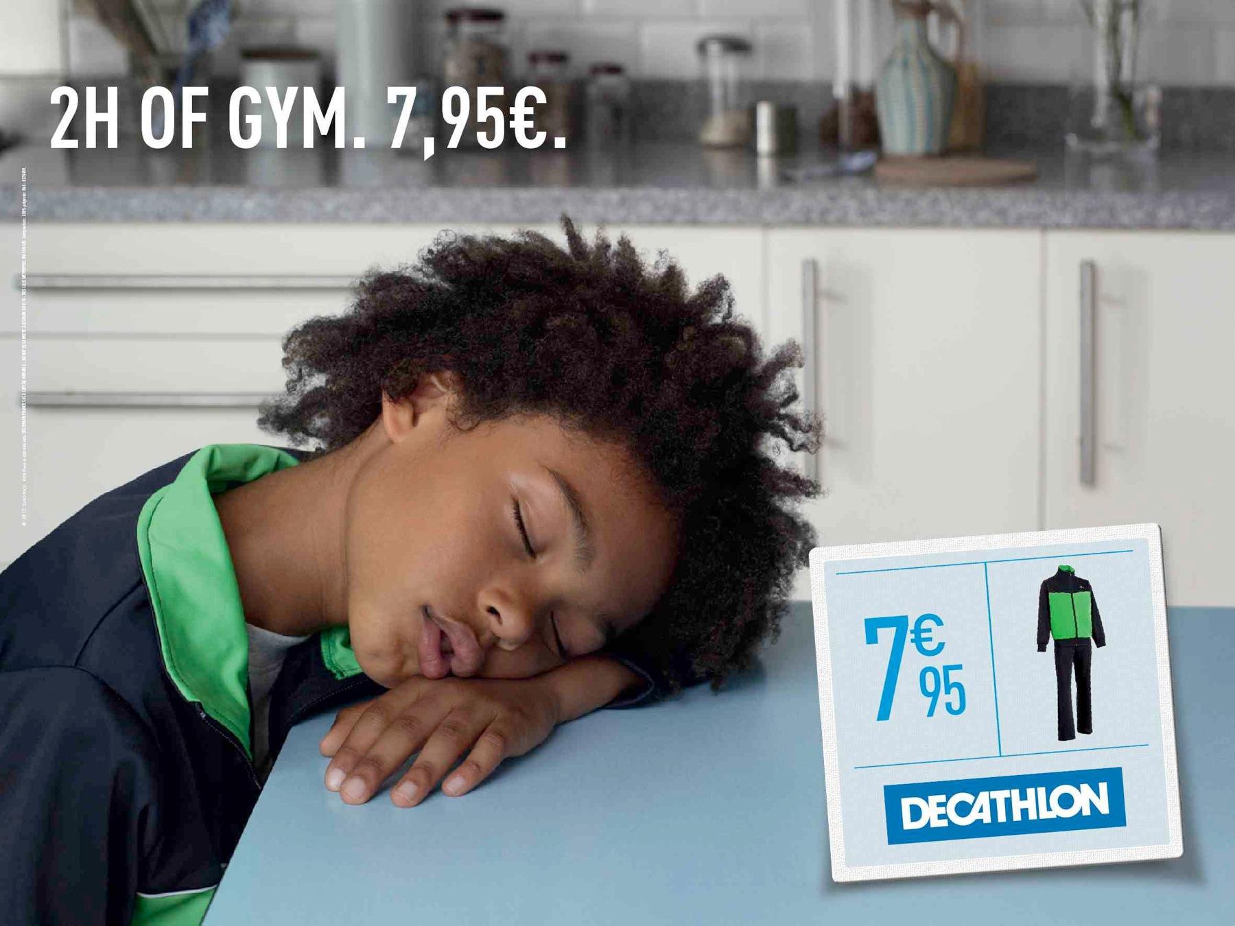 Decathlon Print Ad -  Tired, 4