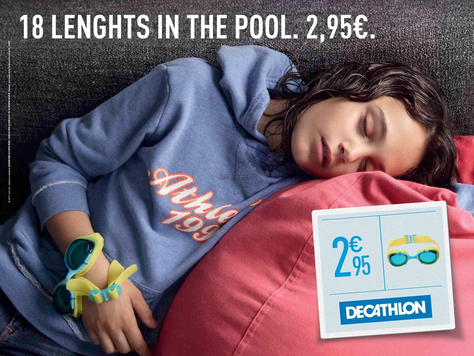 Decathlon Print Ad -  Tired, 3