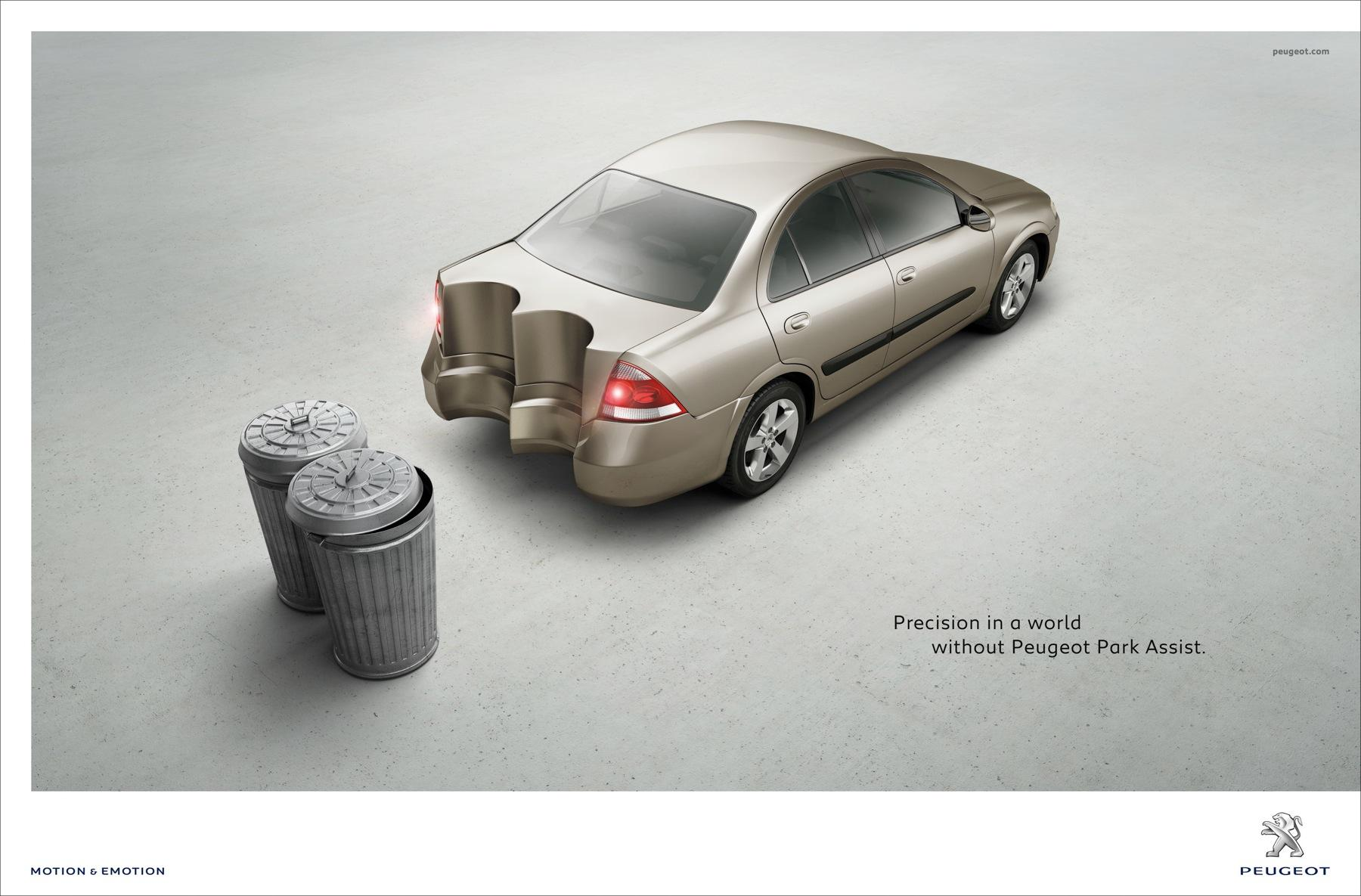 Peugeot Print Ad -  Shapes, 1
