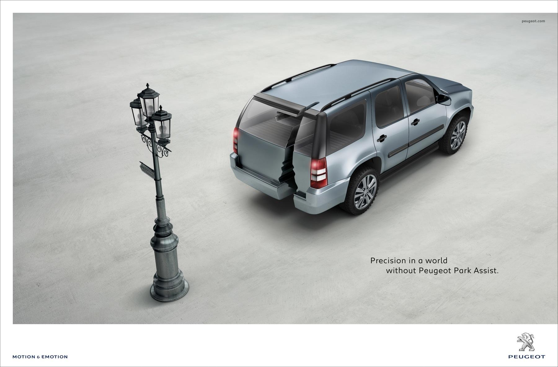 Peugeot Print Ad -  Shapes, 2