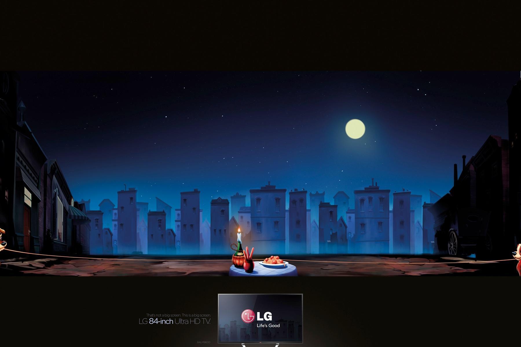 LG Print Ad -  Lady