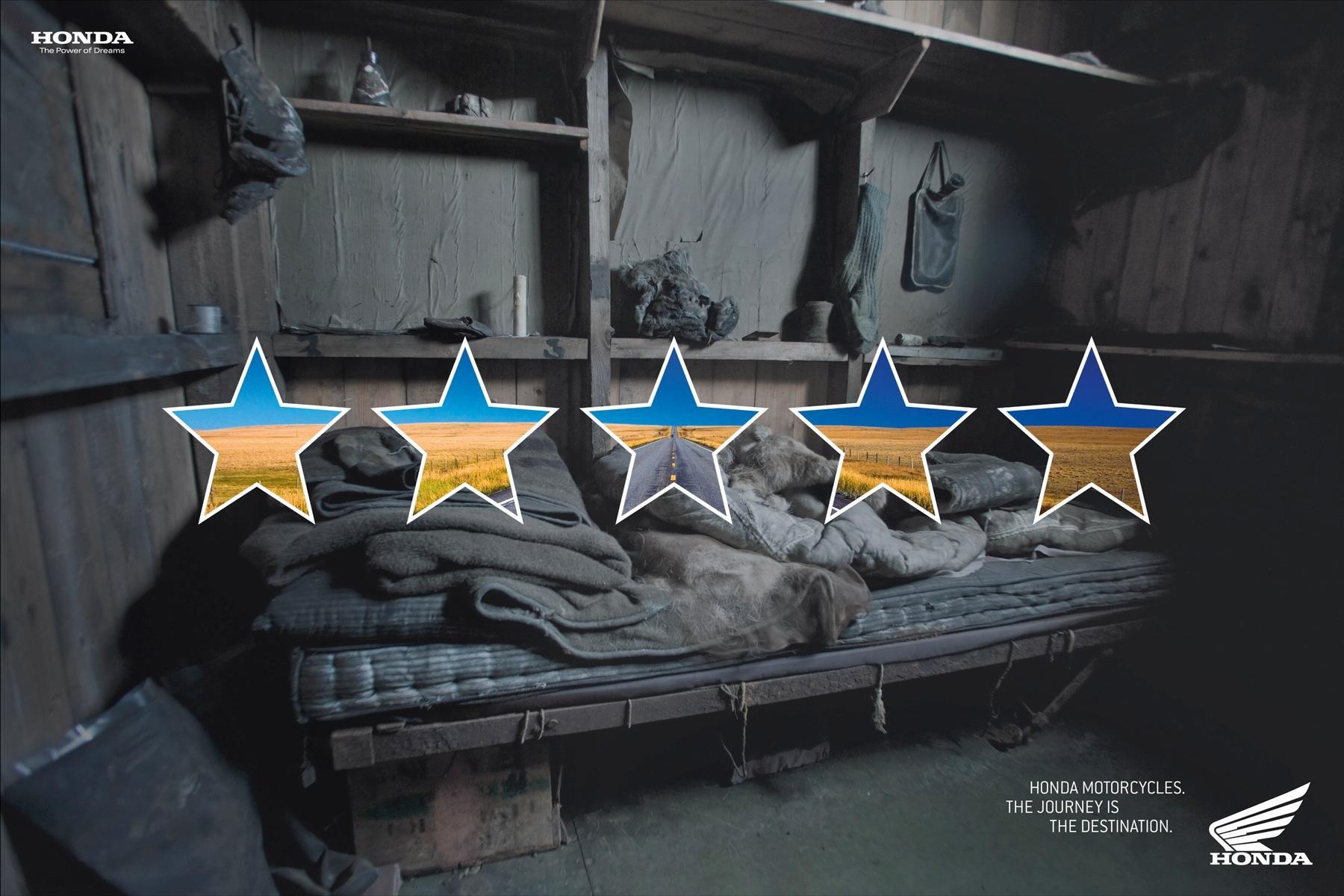 Honda Print Ad -  5 stars, 3