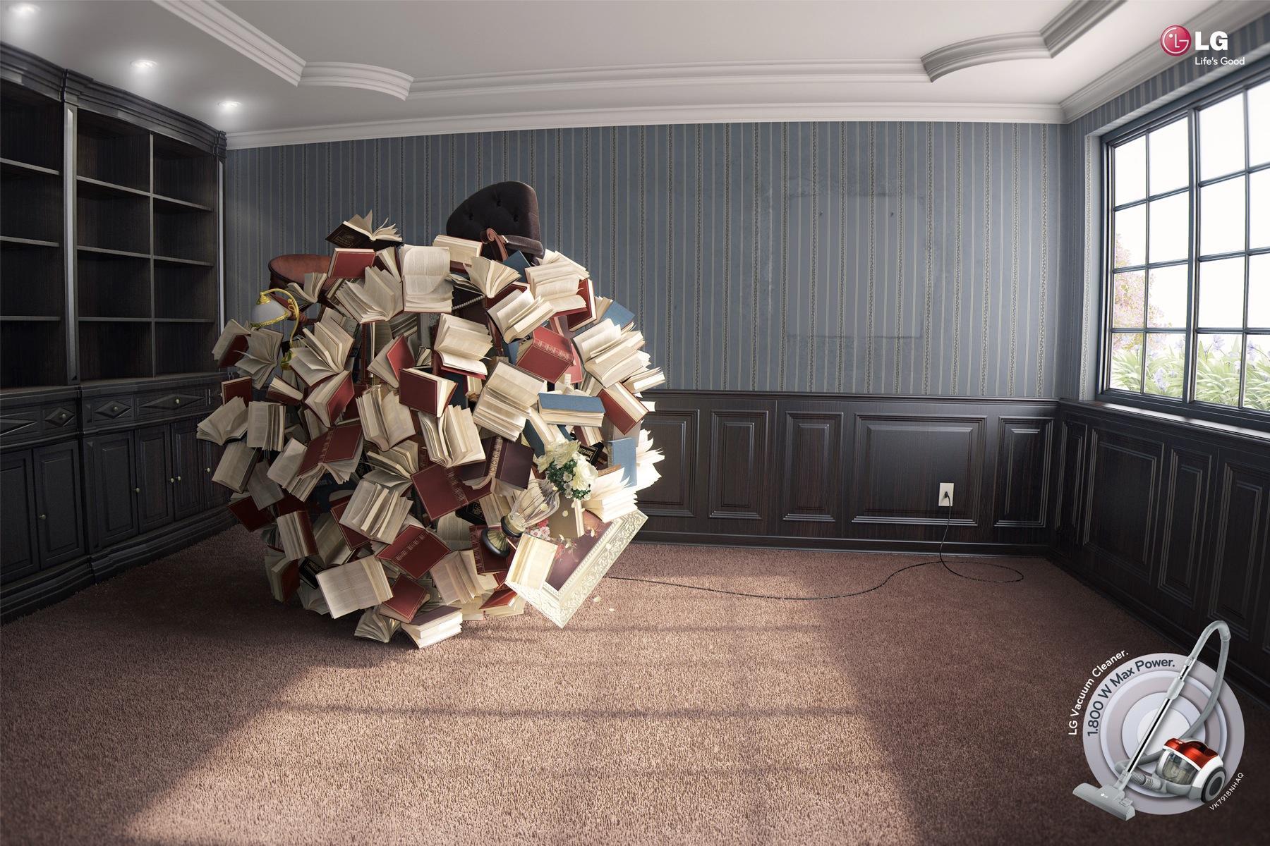 LG Print Ad -  Library