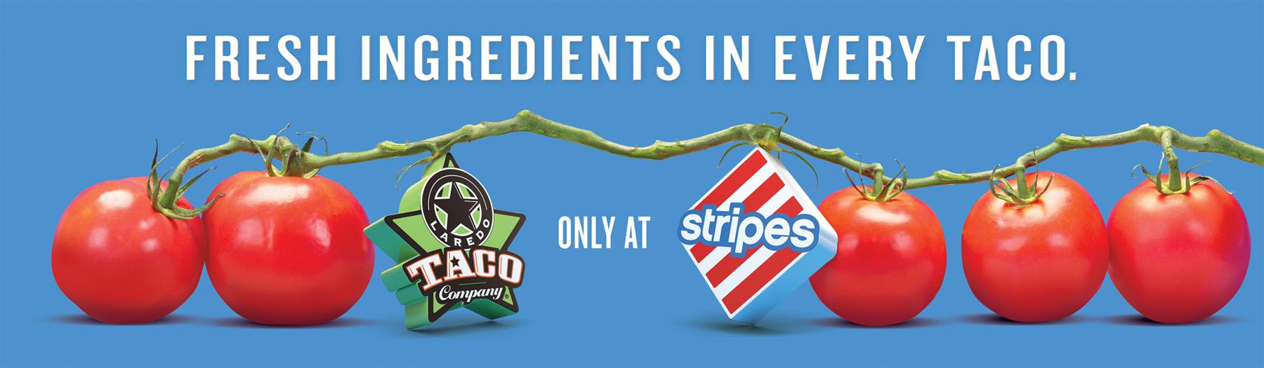 Stripes Convenience Stores Print Ad -  Vine Tomatoes