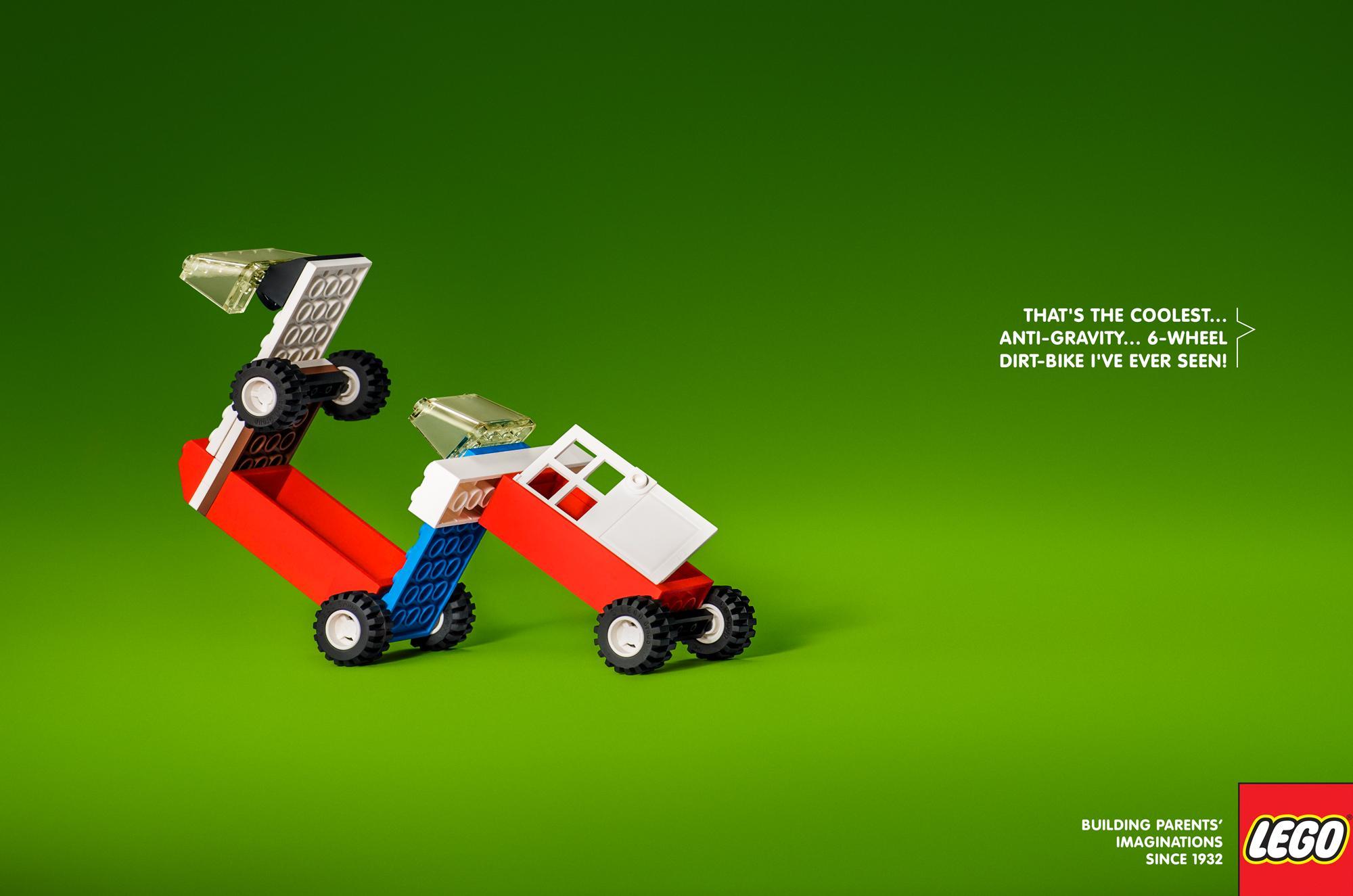 Lego Print Ad - 6-wheel Dirt Bike