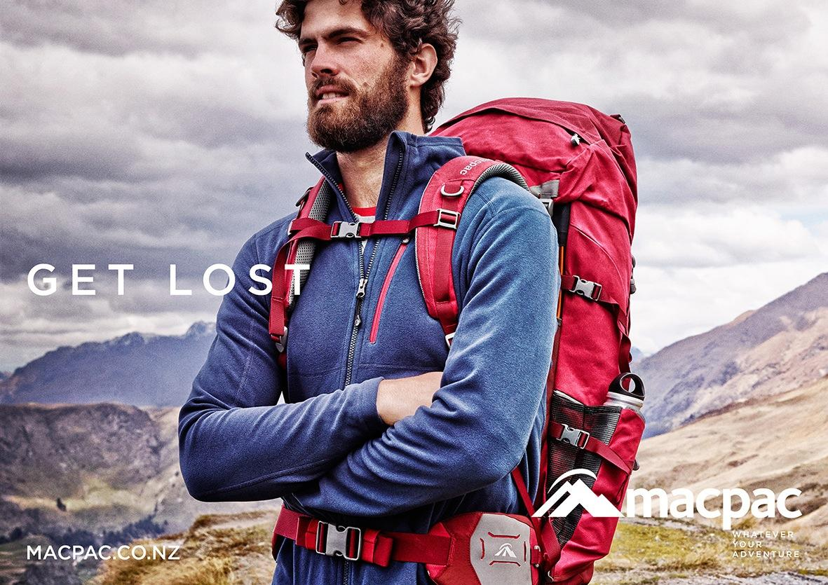 Macpac Outdoor Ad -  Lost