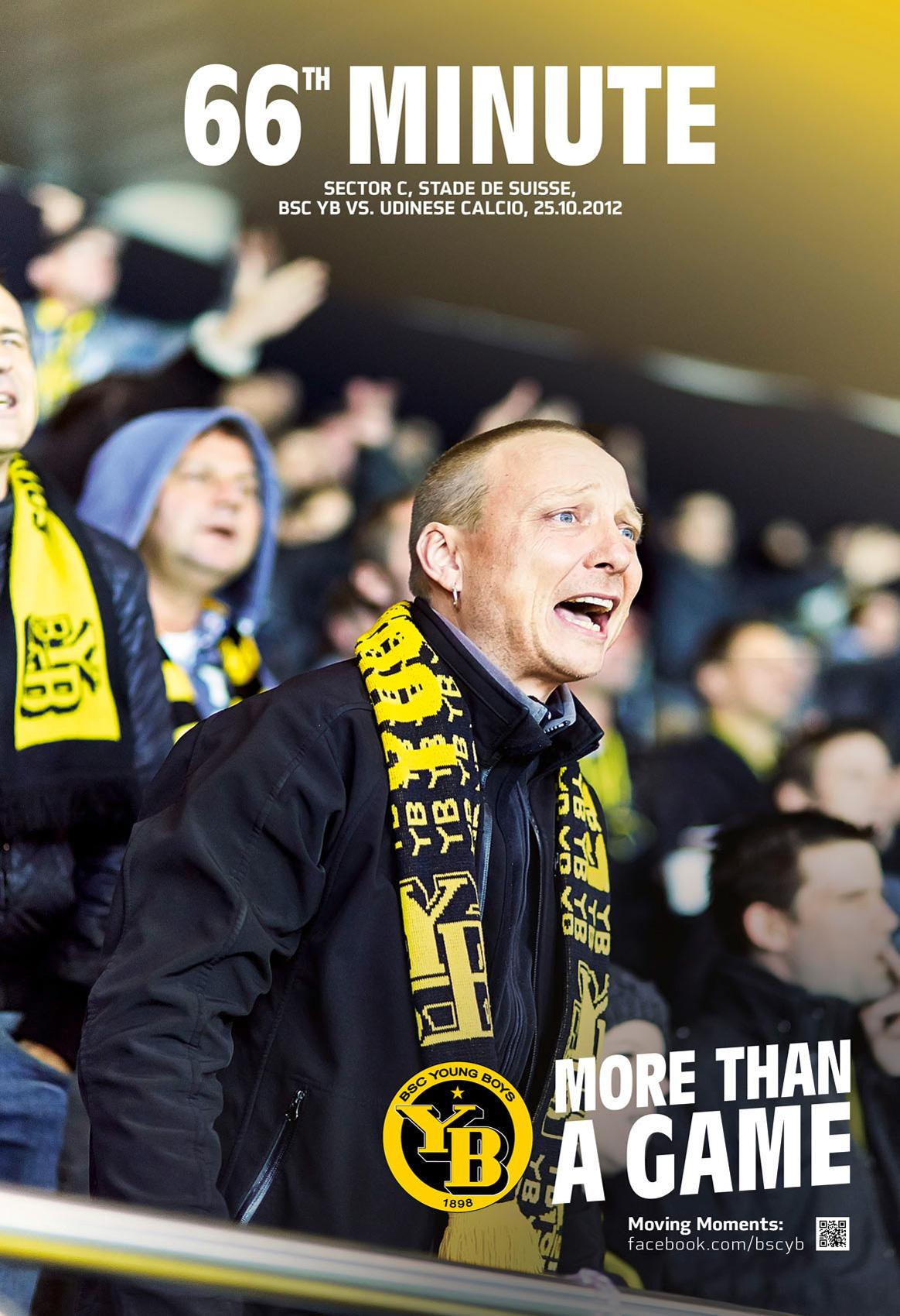 BSC Young Boys Print Ad -  More than a game, 1
