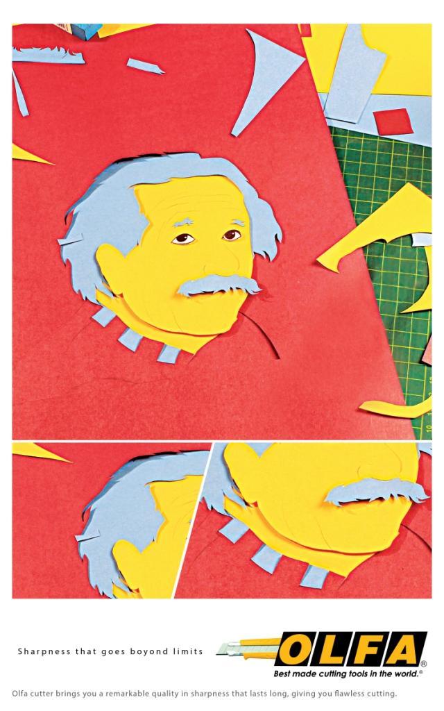 Olfa Print Ad - Sharpness, 2