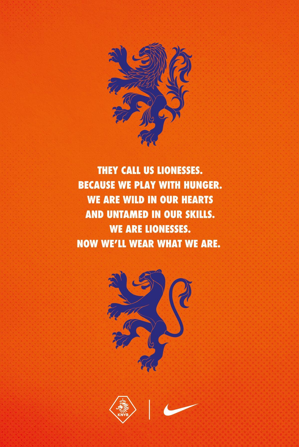 Nike Design Ad - They Call Us Leeuwinnen