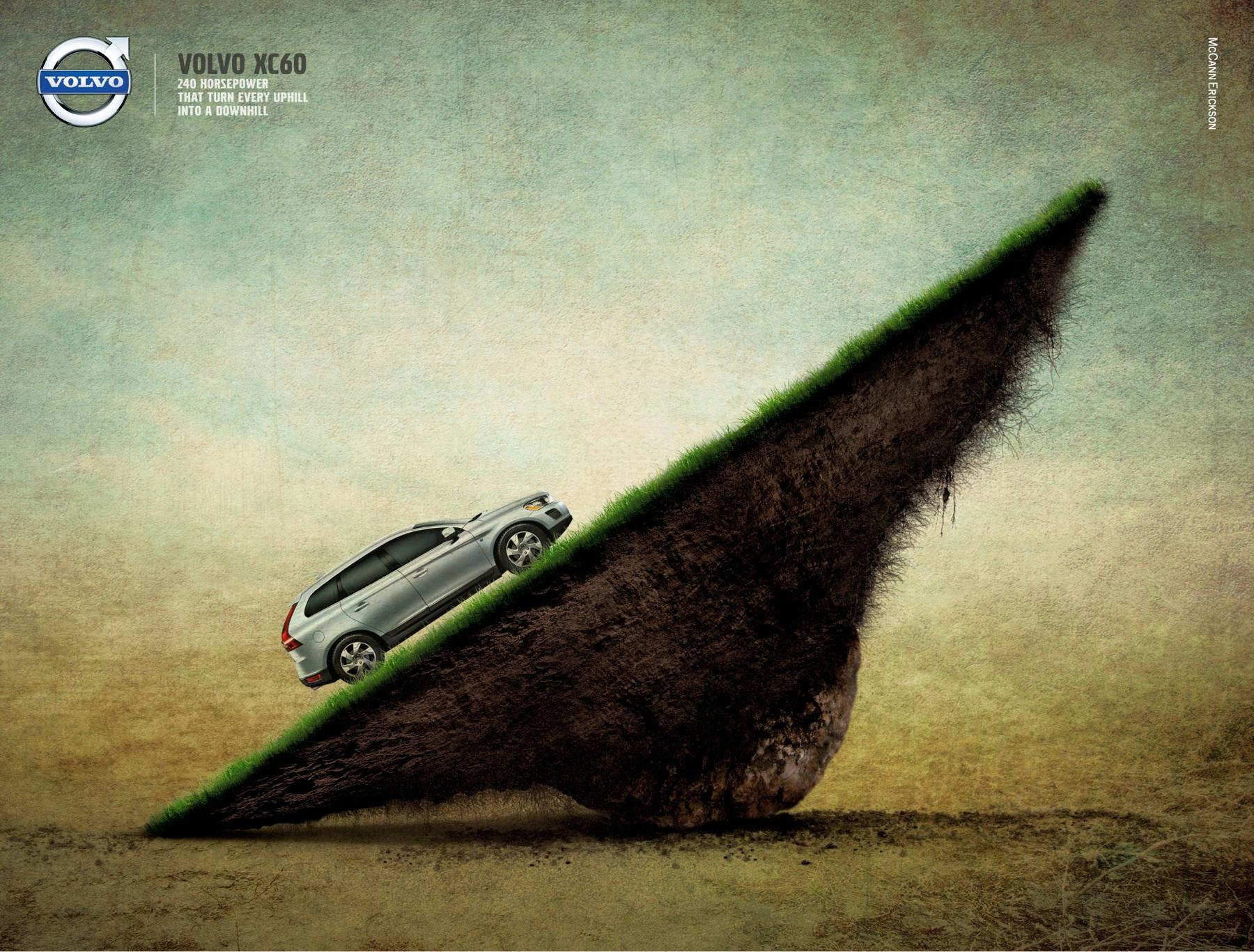 Volvo Print Ad -  The Seesaw