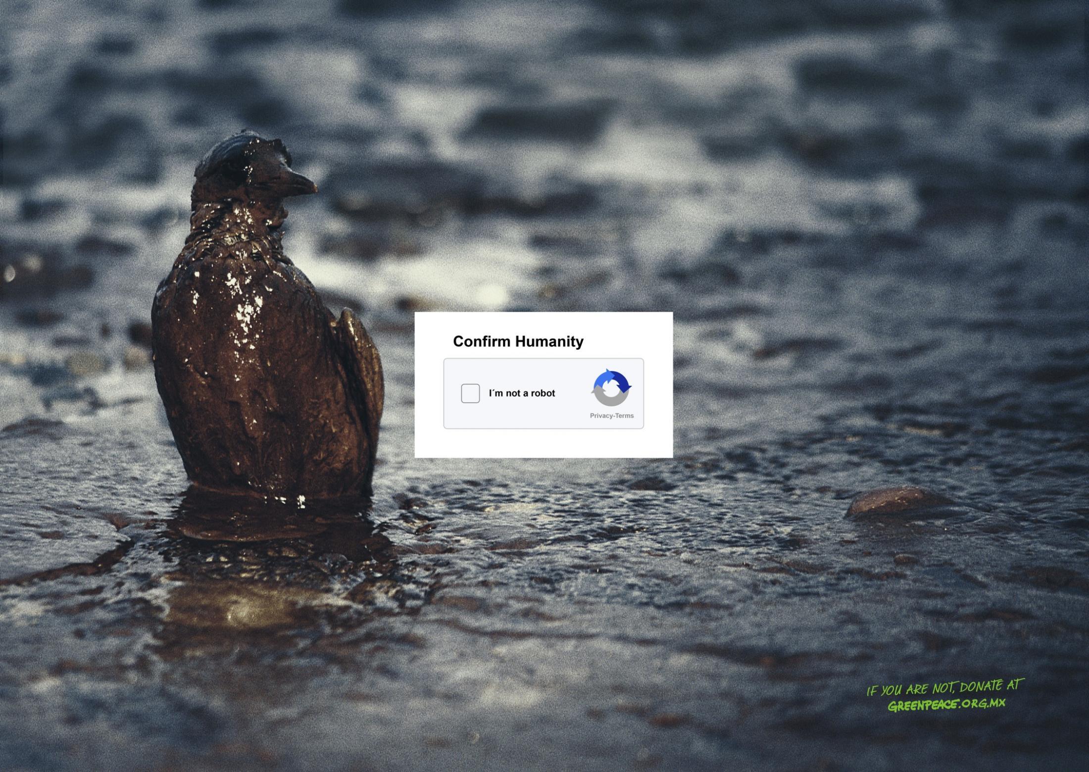 Greenpeace Print Ad - Humanity, 2