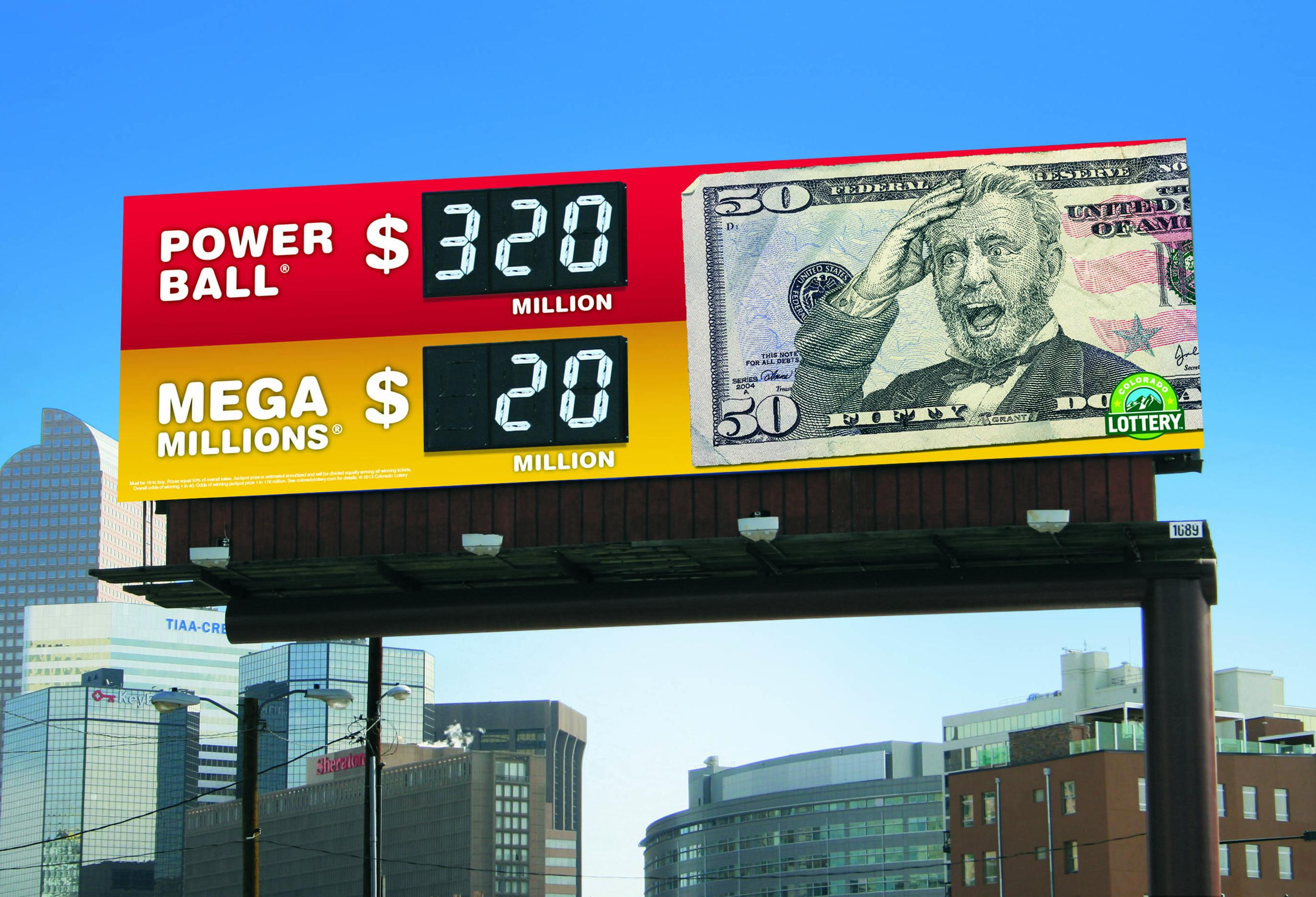 Colorado Lottery Outdoor Ad -  Grant