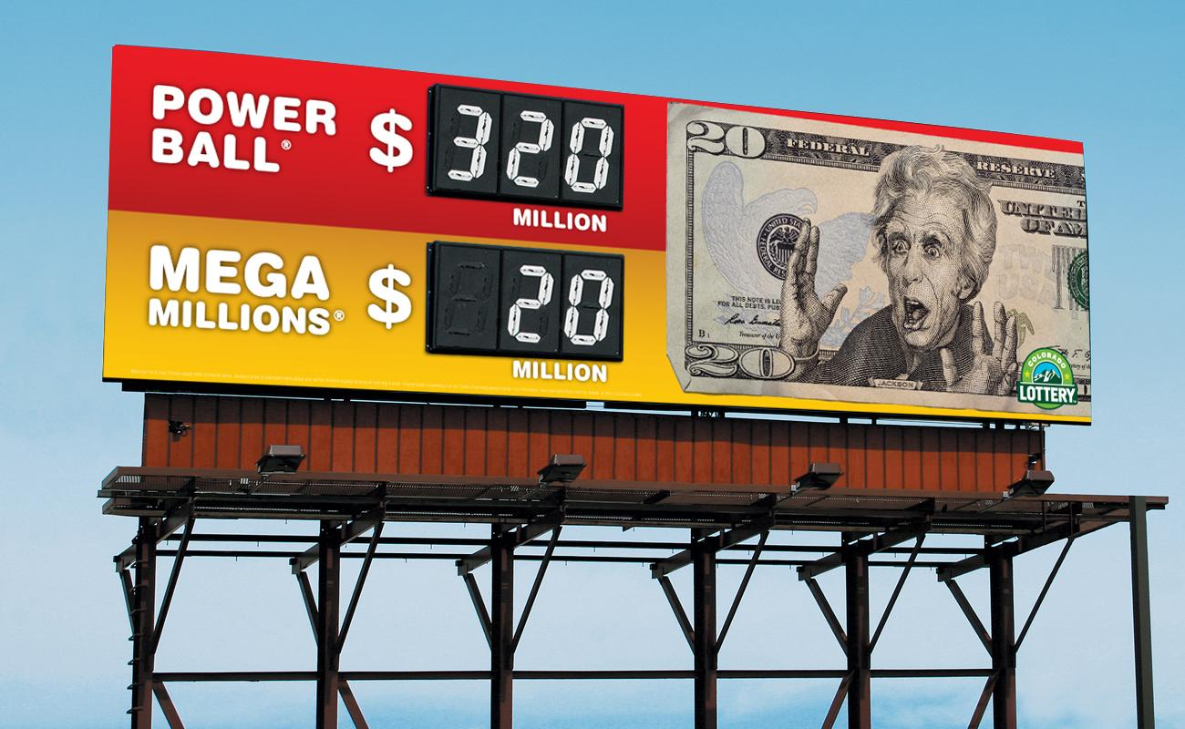 Colorado Lottery Outdoor Ad -  Jackson